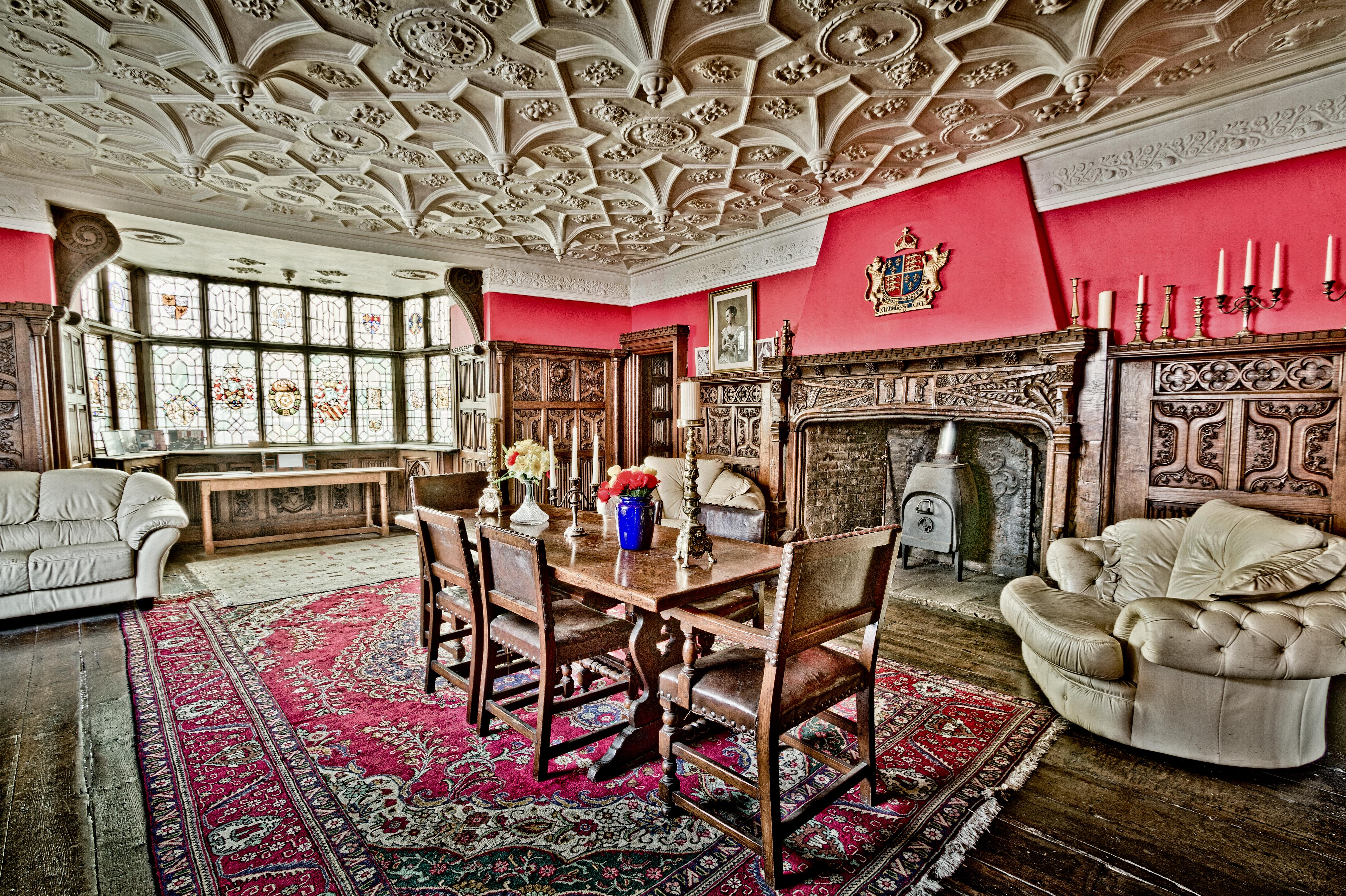 Kostenlose foto : Tabelle, die Architektur, Jahrgang, Villa, Innere ...