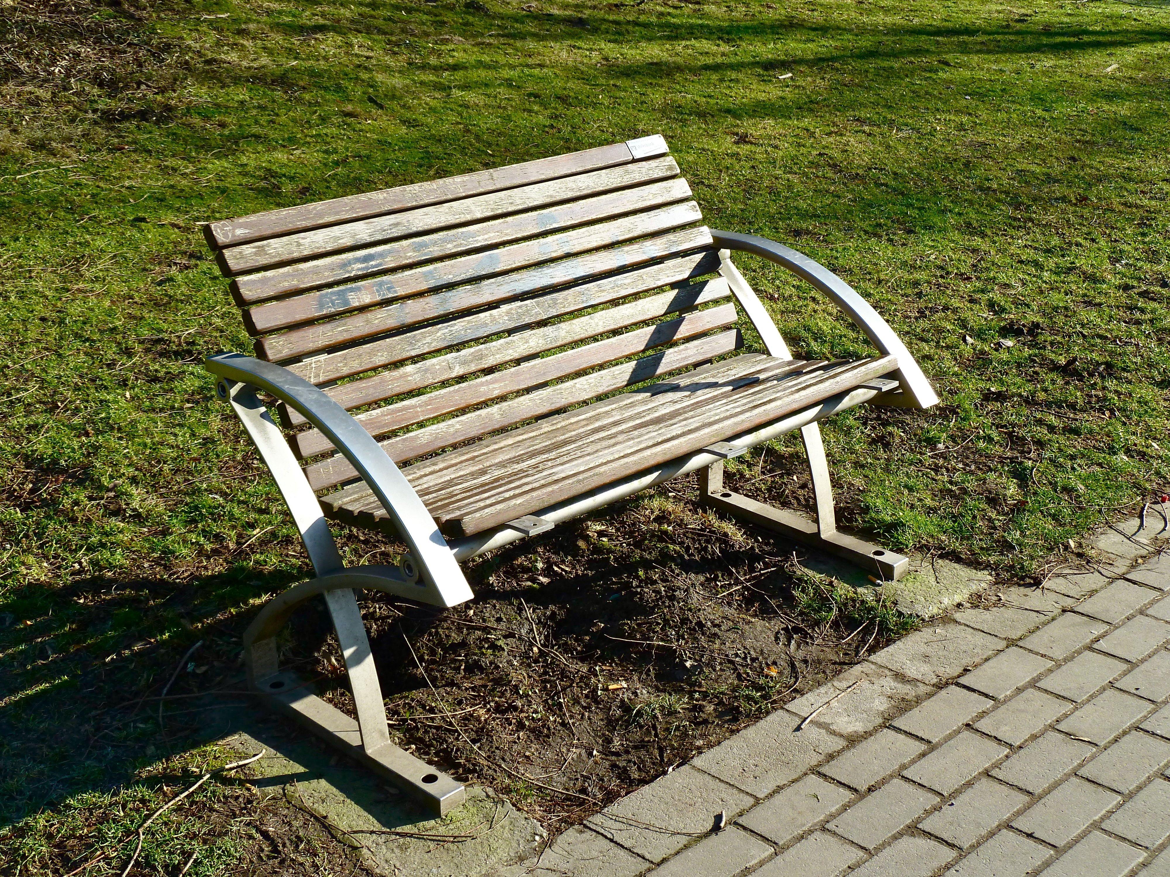 Fotos gratis : mesa, banco, silla, relajarse, descanso, Banco del ...