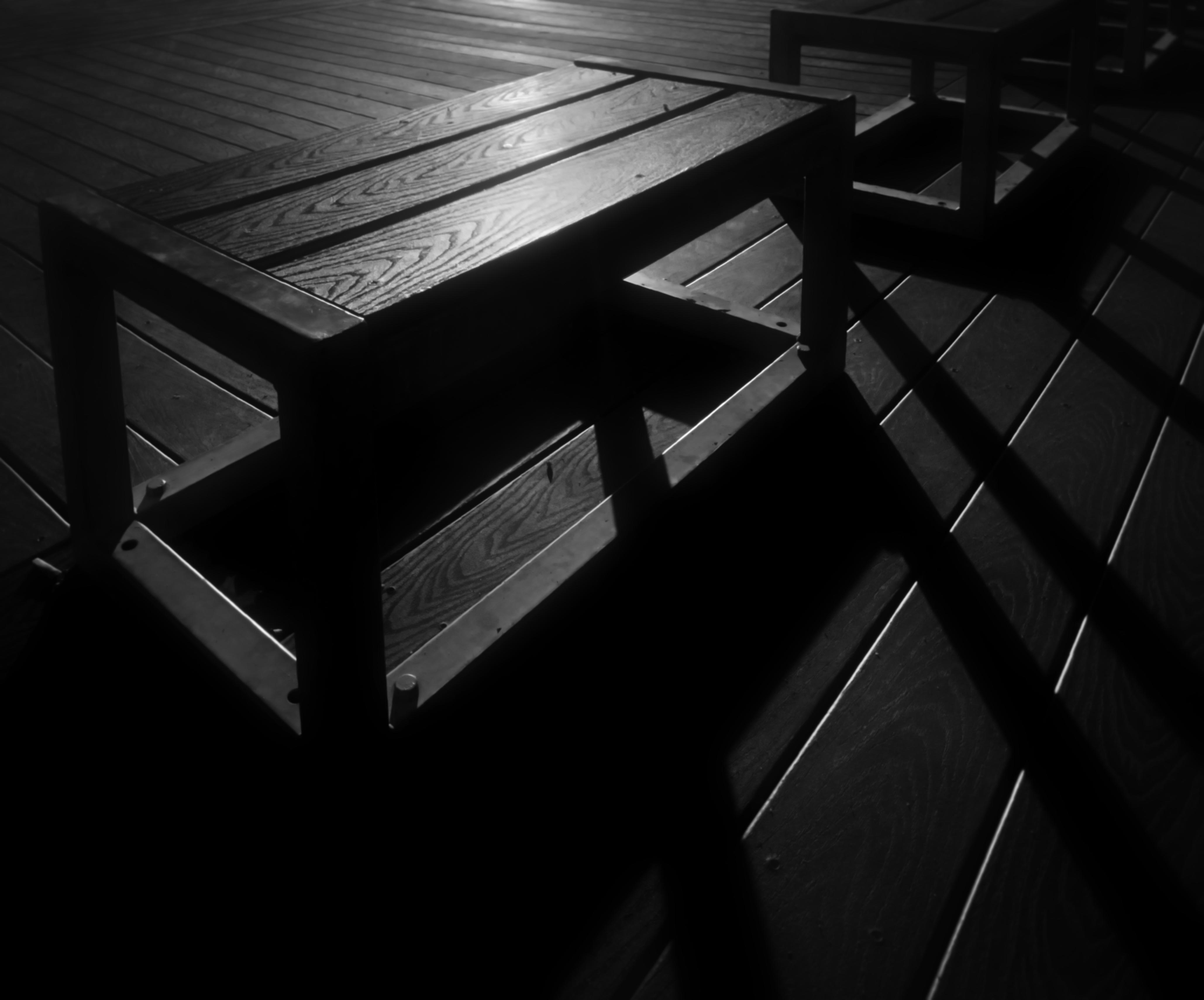 Fotos gratis : mesa, pájaro, ligero, en blanco y negro, piso, lago ...