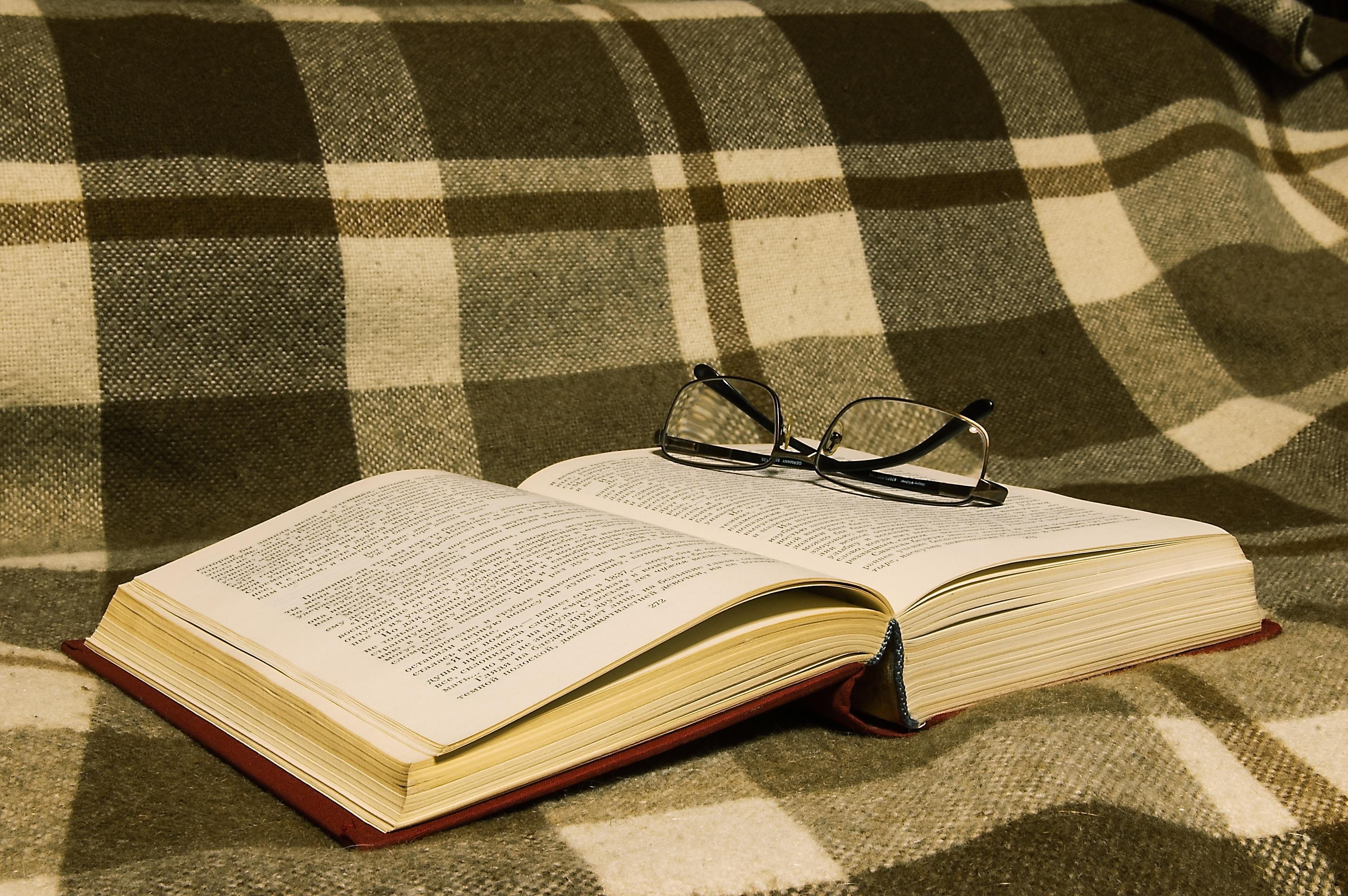 Fotos gratis : mesa, libro, leer, vacaciones, noche, mueble, tartán ...