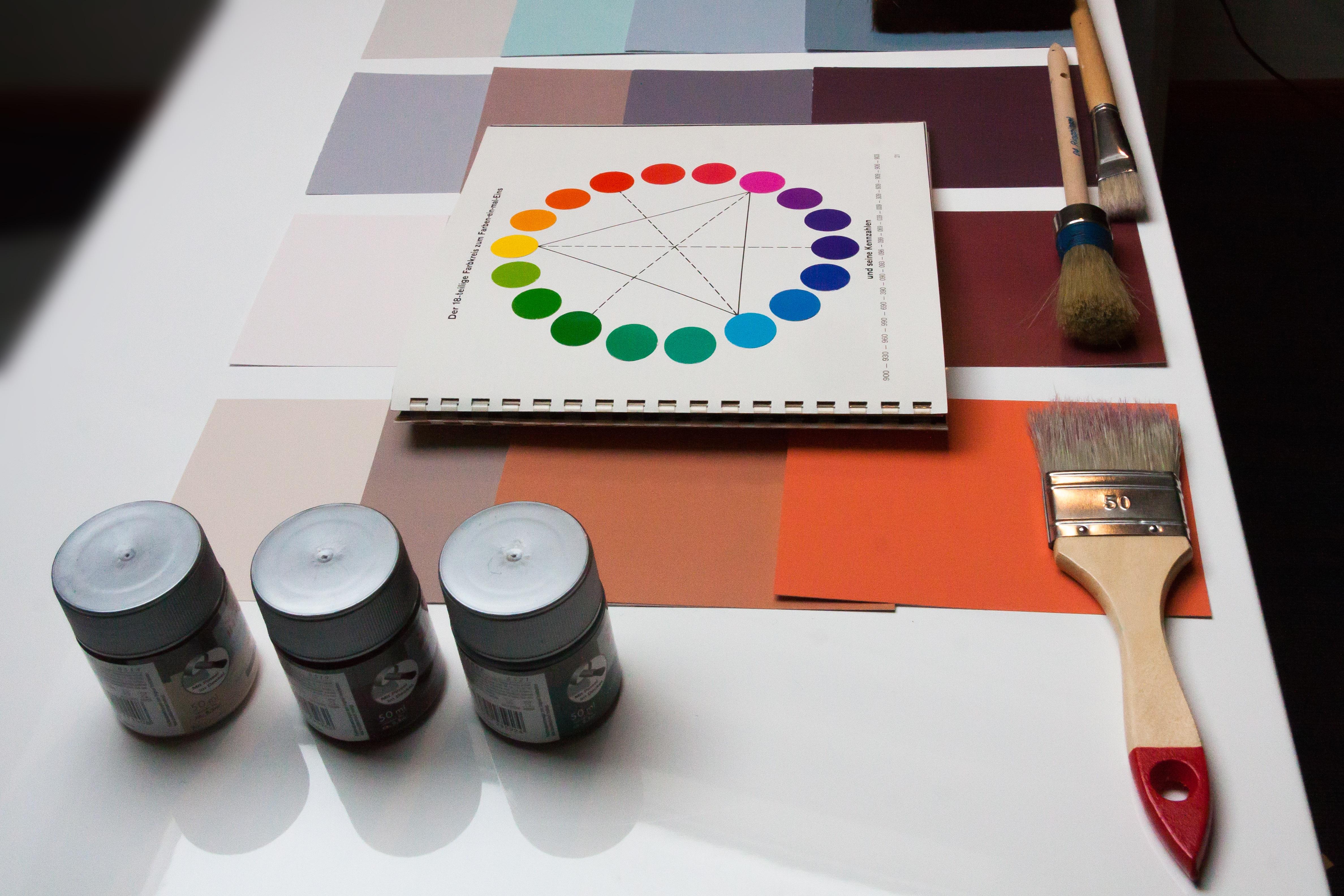 Innenarchitektur Lehre kostenlose foto tabelle bürste farbe material innenarchitektur