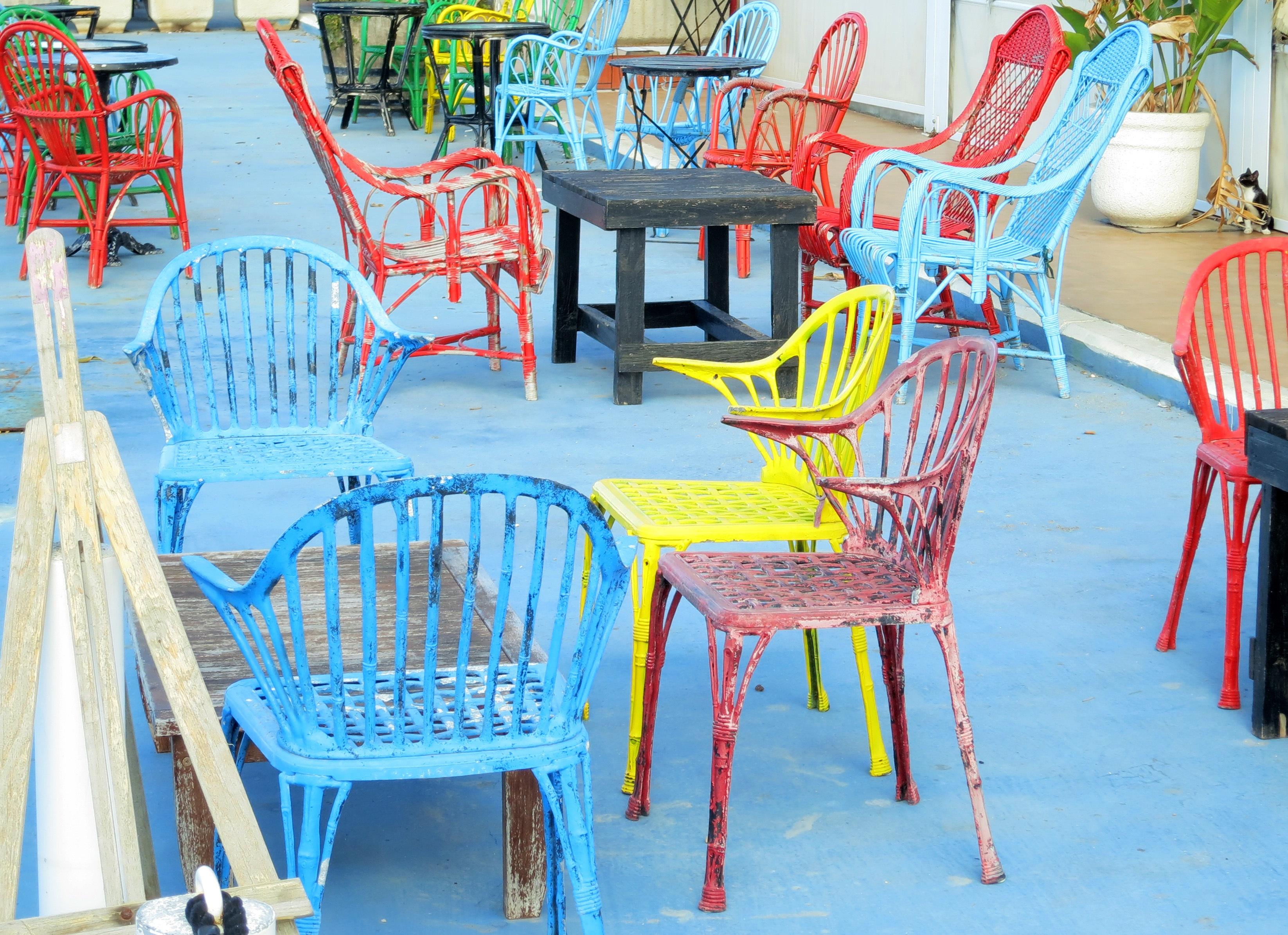 Free table chair restaurant amusement park color