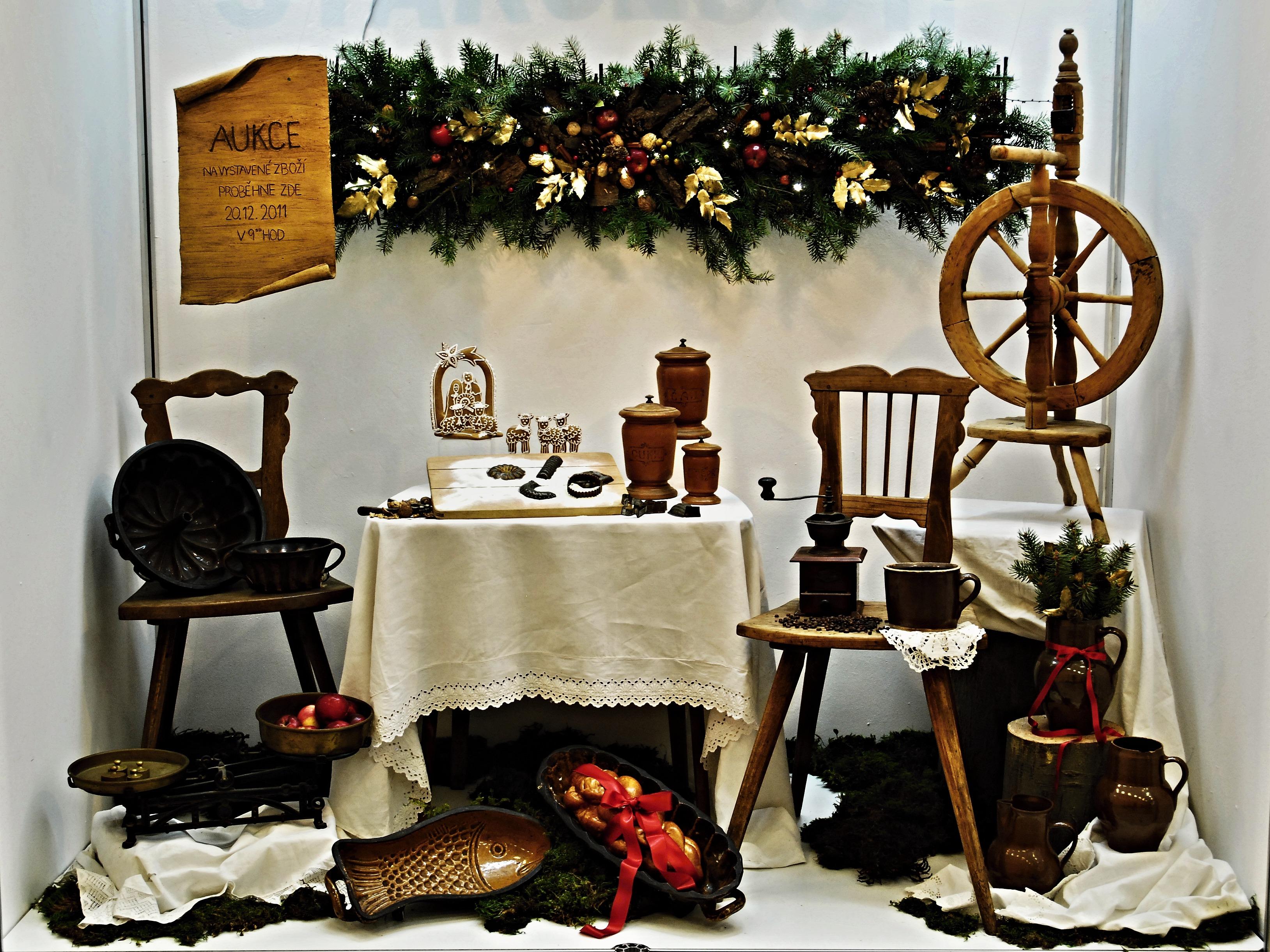 Fotos Gratis Mesa Silla Ventana Casa Mueble Navidad  # Muebles De Casa