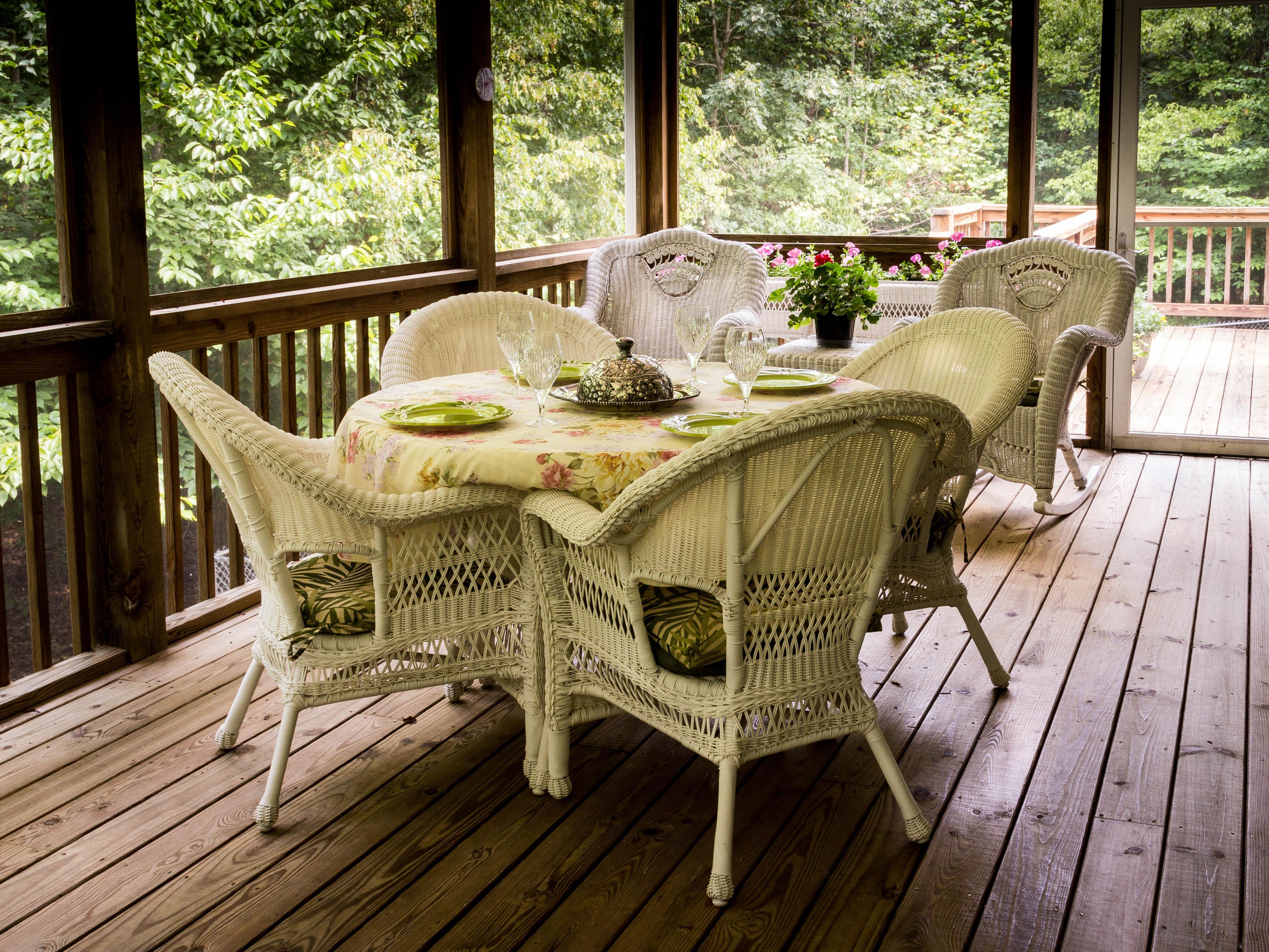 Free Images Deck Wood Villa Home Cottage Backyard