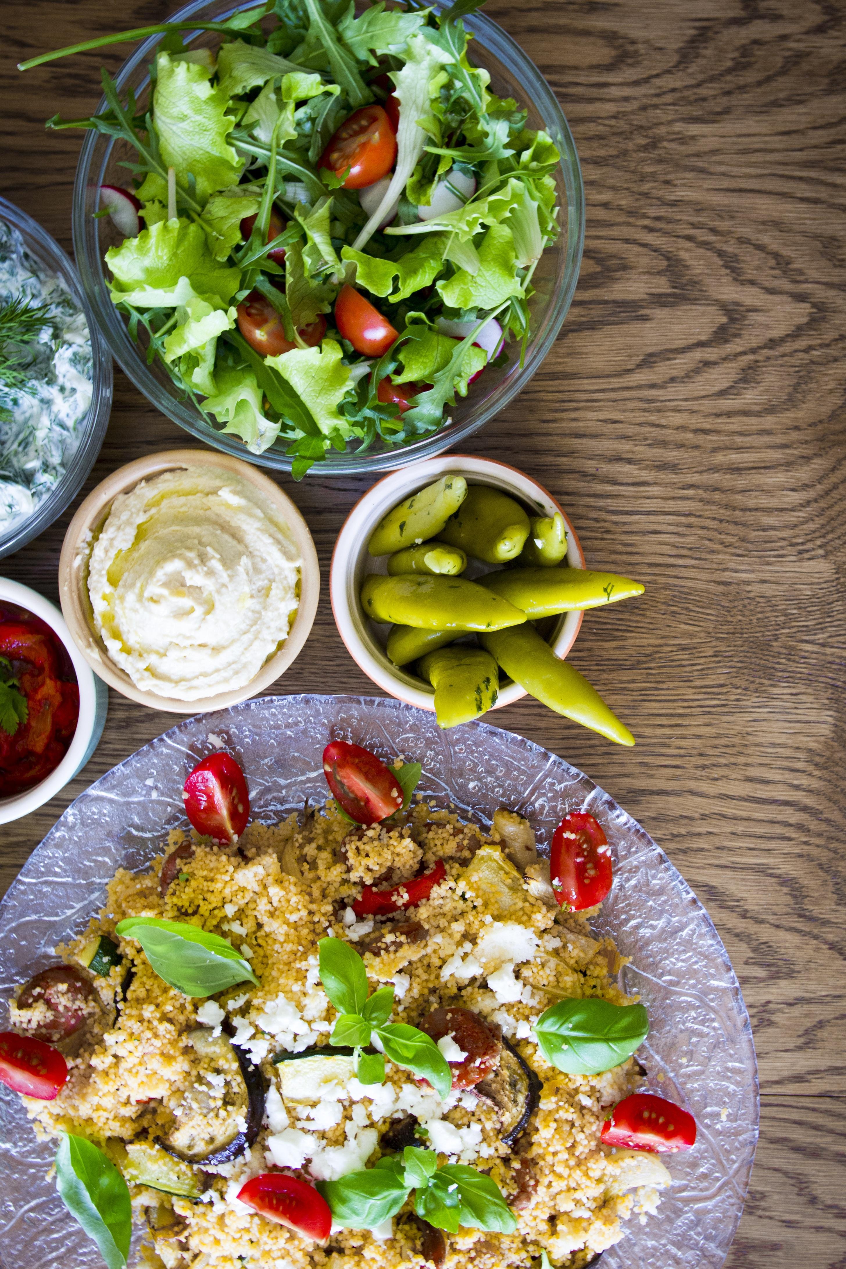 Fotos gratis : mesa, inmersión, verano, plato, ensalada ...