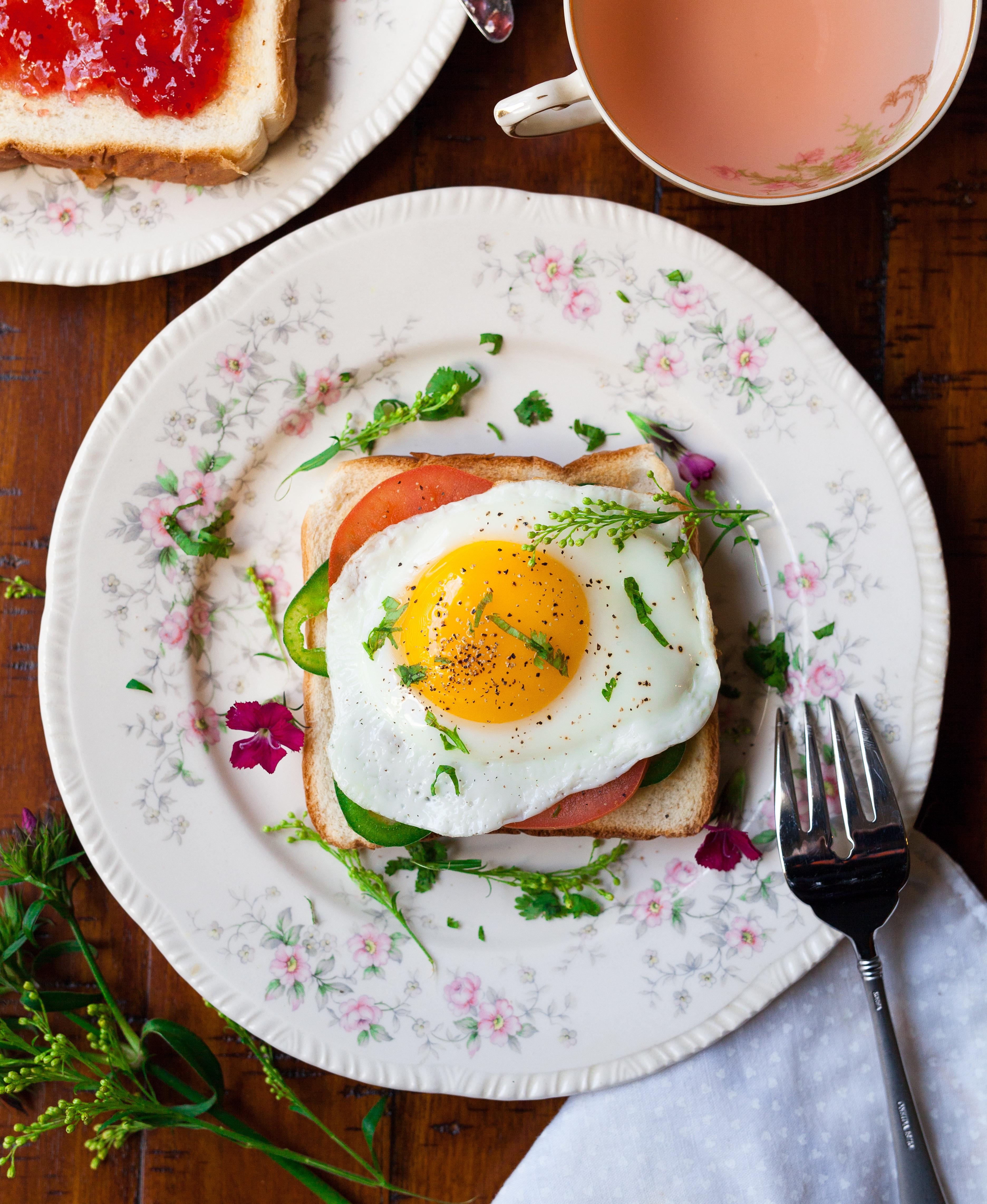 Простые картинки завтрак