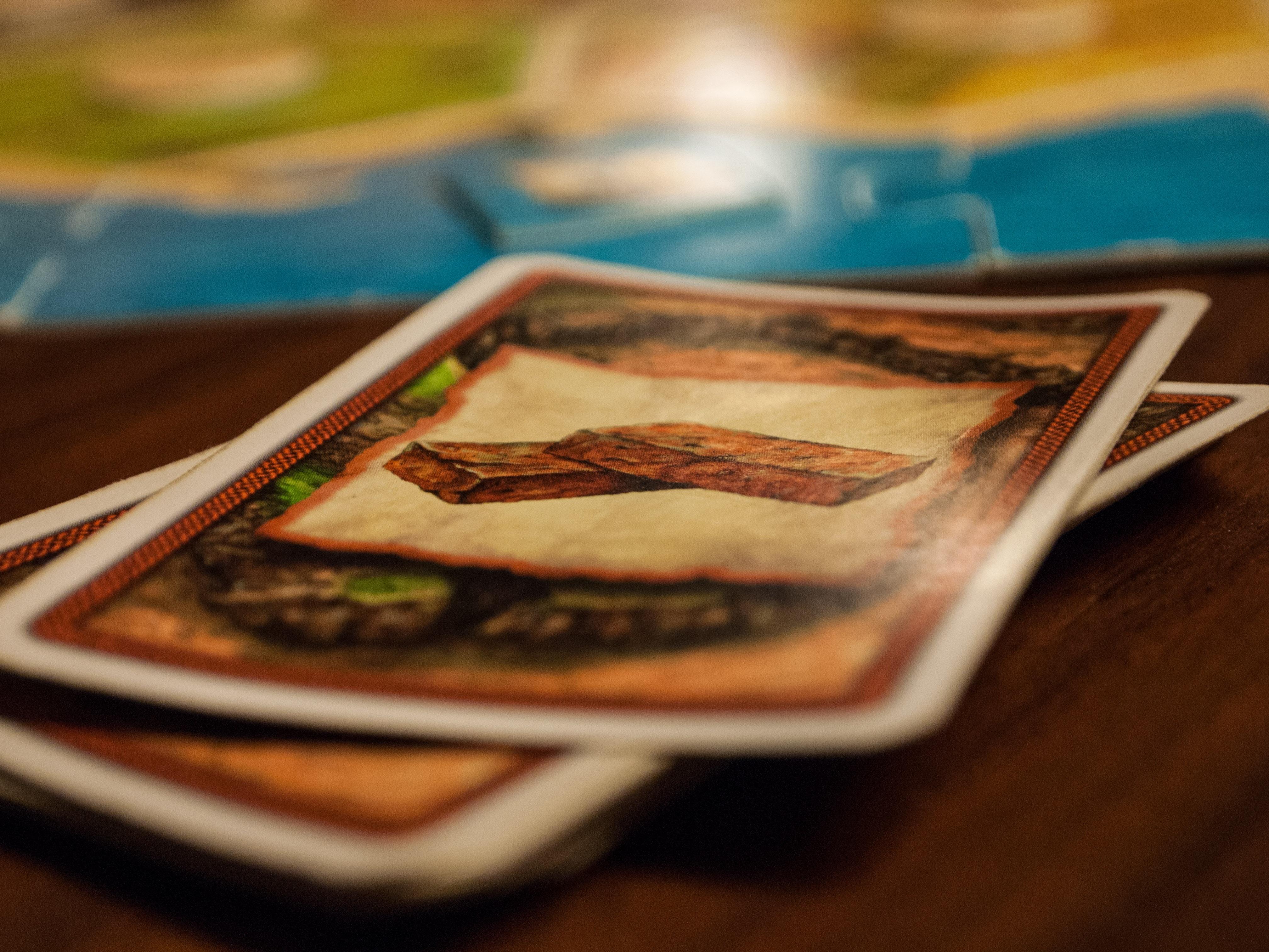 еда карты играть