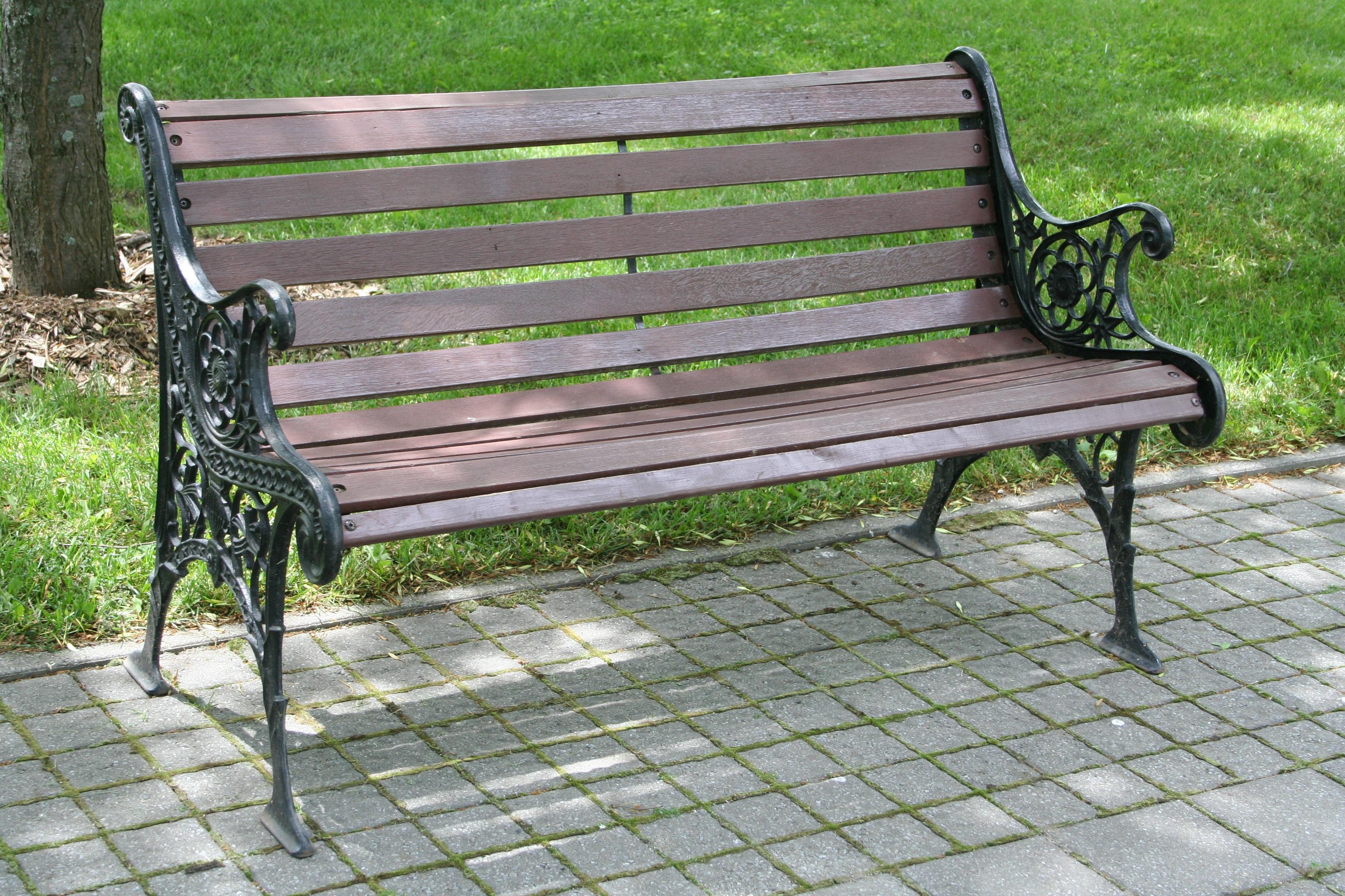 Fotos gratis : mesa, naturaleza, madera, banco, silla, verde, parque ...