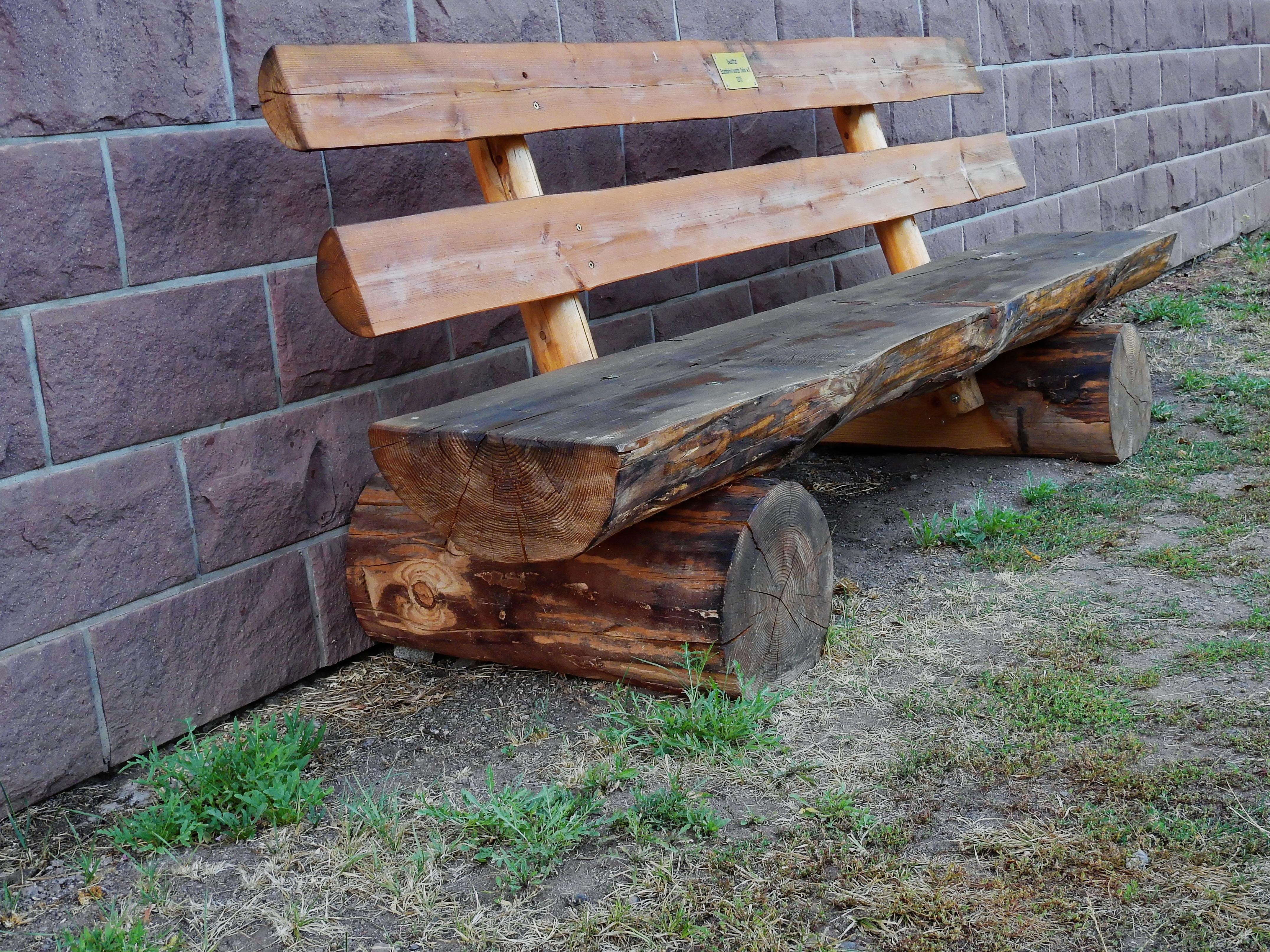 Fotos gratis : mesa, árbol, naturaleza, banco, asiento, pared ...