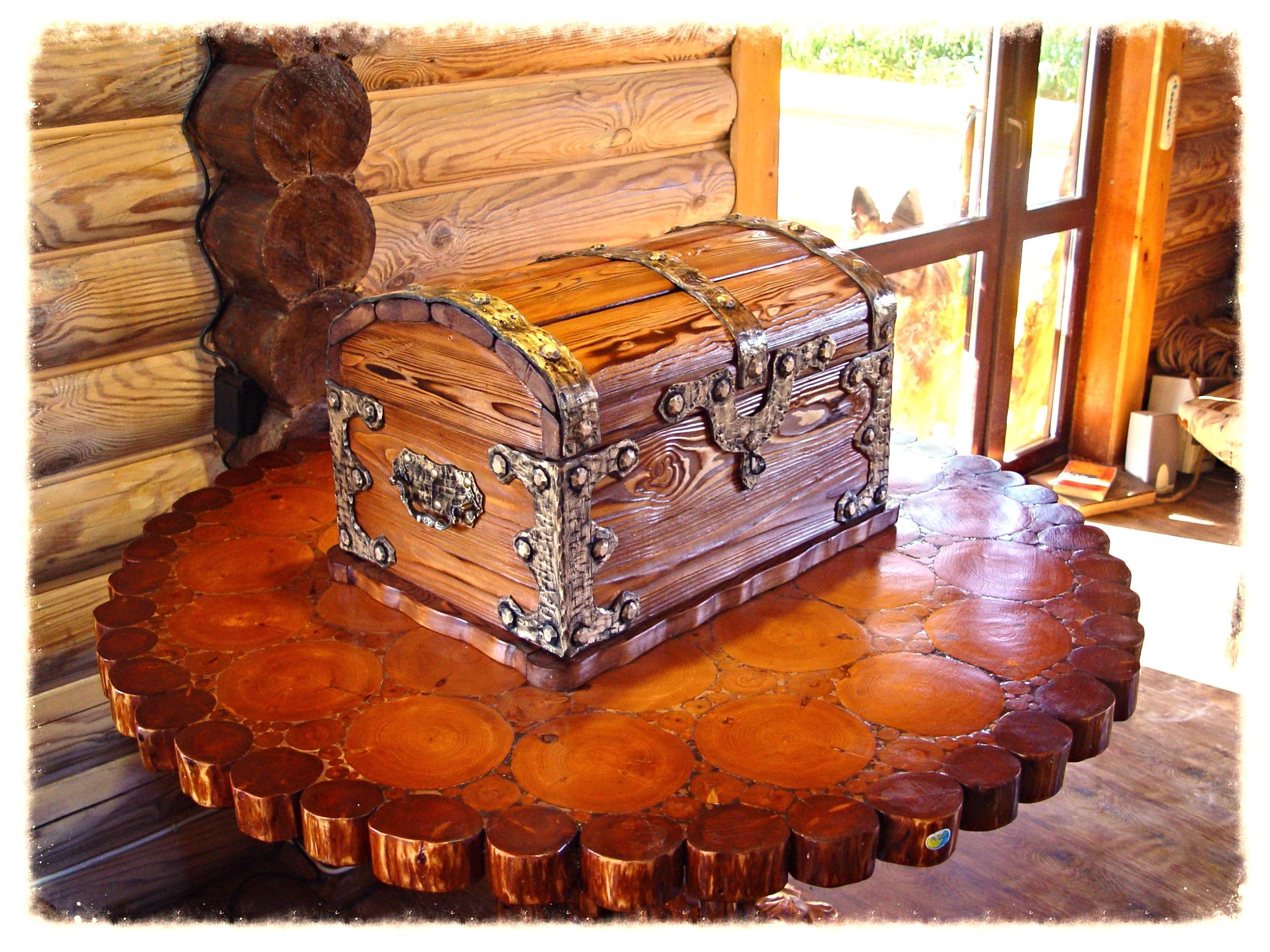 Gambar Meja Pohon Kayu Antik Makanan Alam Mebel Pencuci Makan Amber Mulut Kue Dada