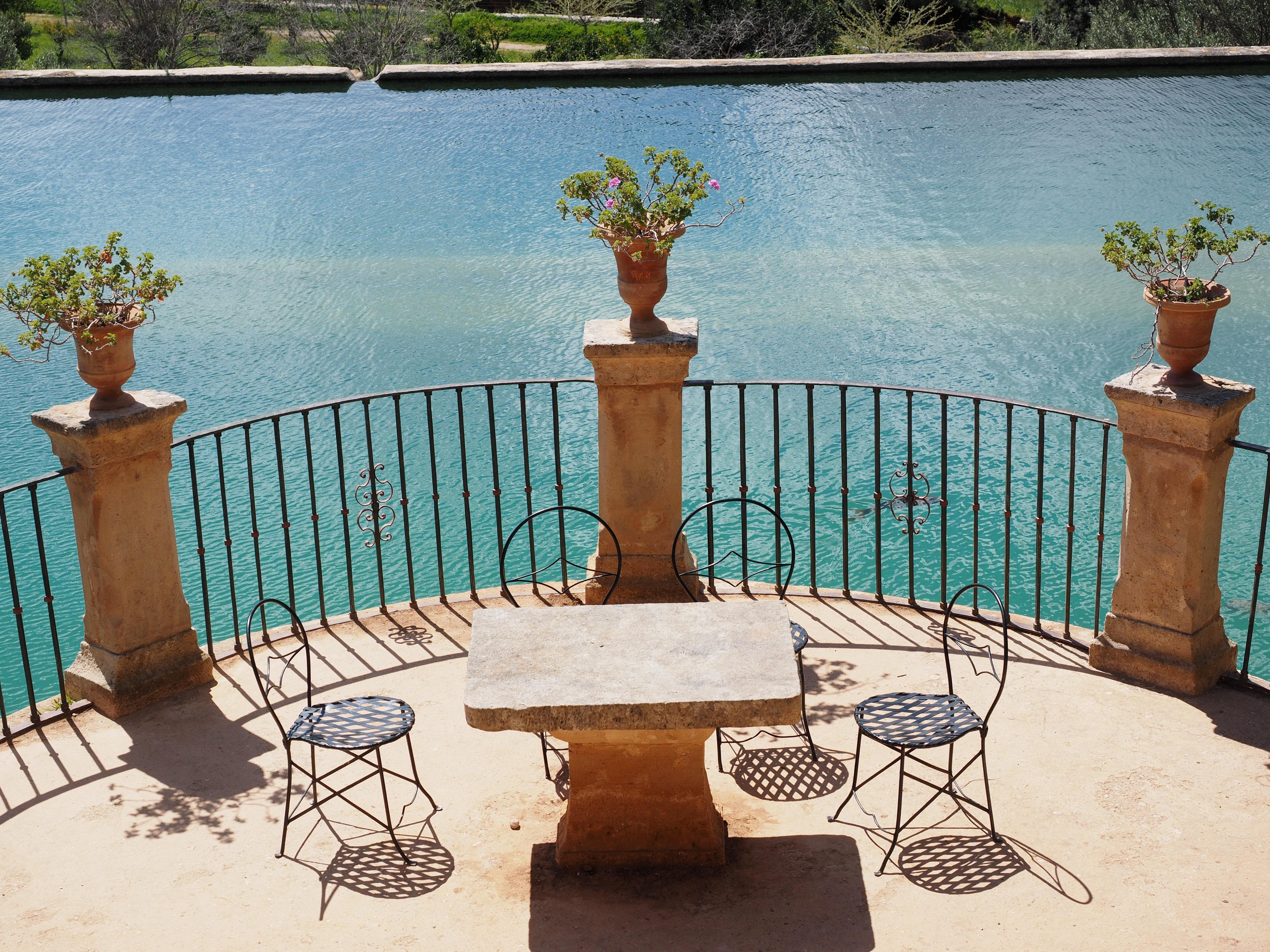 Fotos Gratis Mesa Villa Silla Asiento Vacaciones Balc N  # Muebles Panorama