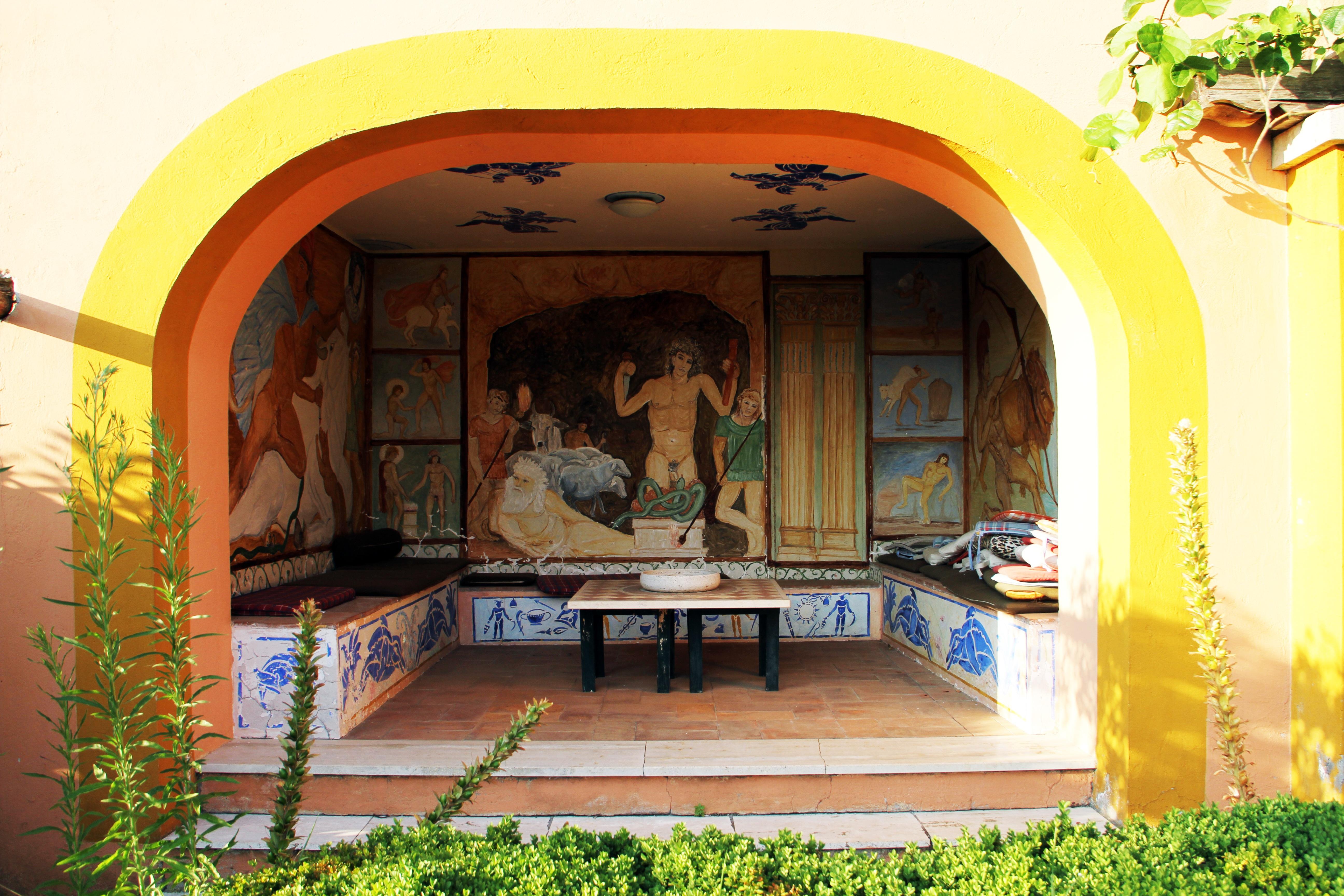 Fotos Gratis Mesa Villa Palacio Casa Arco Fresco