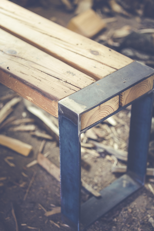 Fotos gratis : mesa, madera, banco, silla, azul, mueble, forma ...