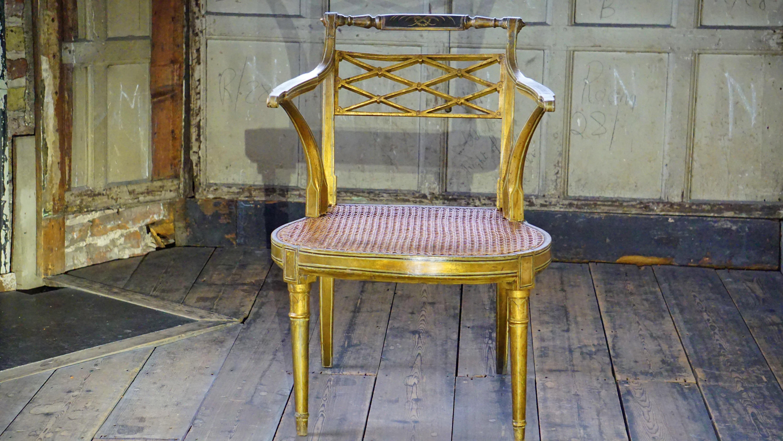 Table wood vintage antique chair floor interior old home furniture room apartment gold design bright elegant