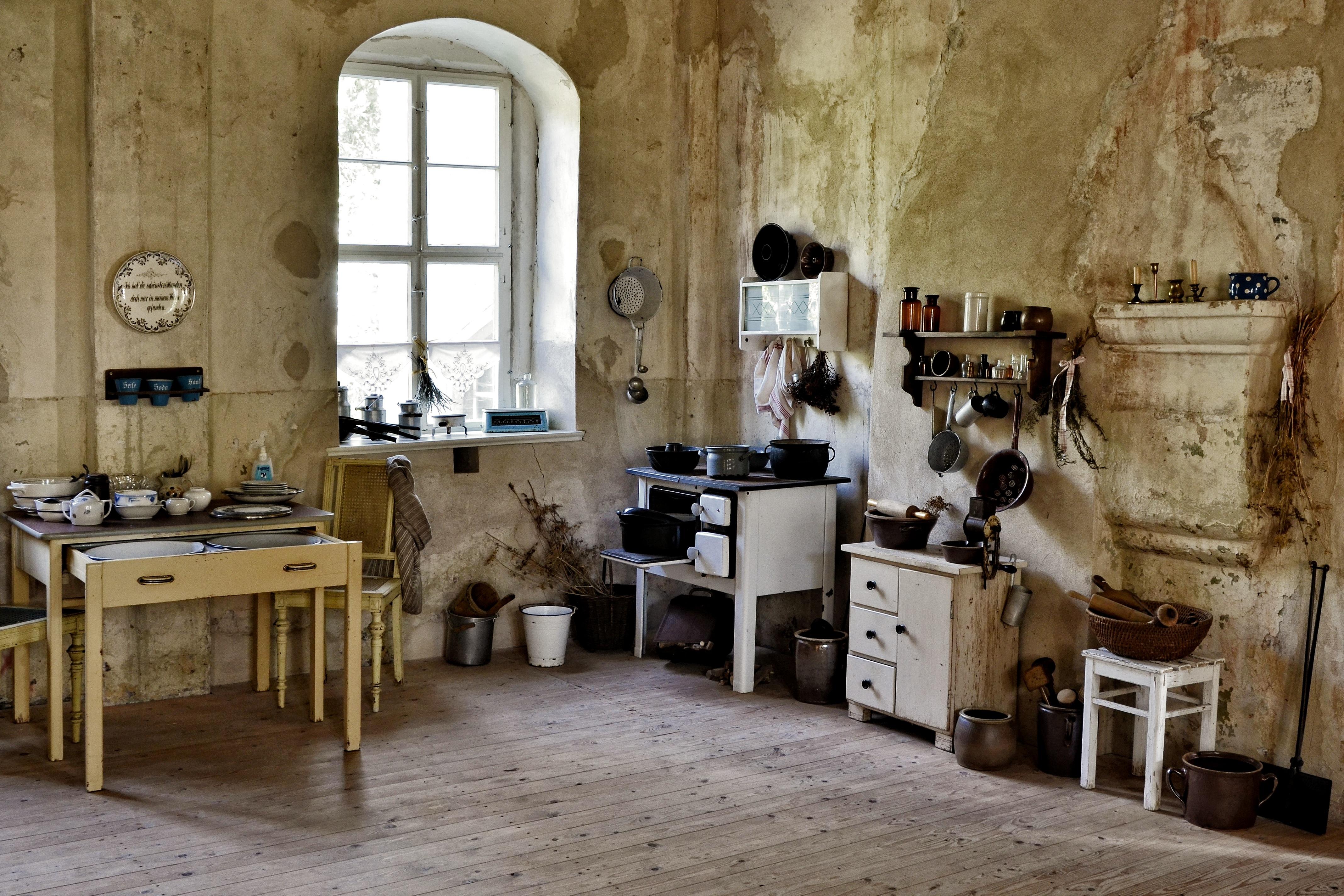 Fotos gratis : mesa, madera, vendimia, casa, piso, antiguo, lavabo ...