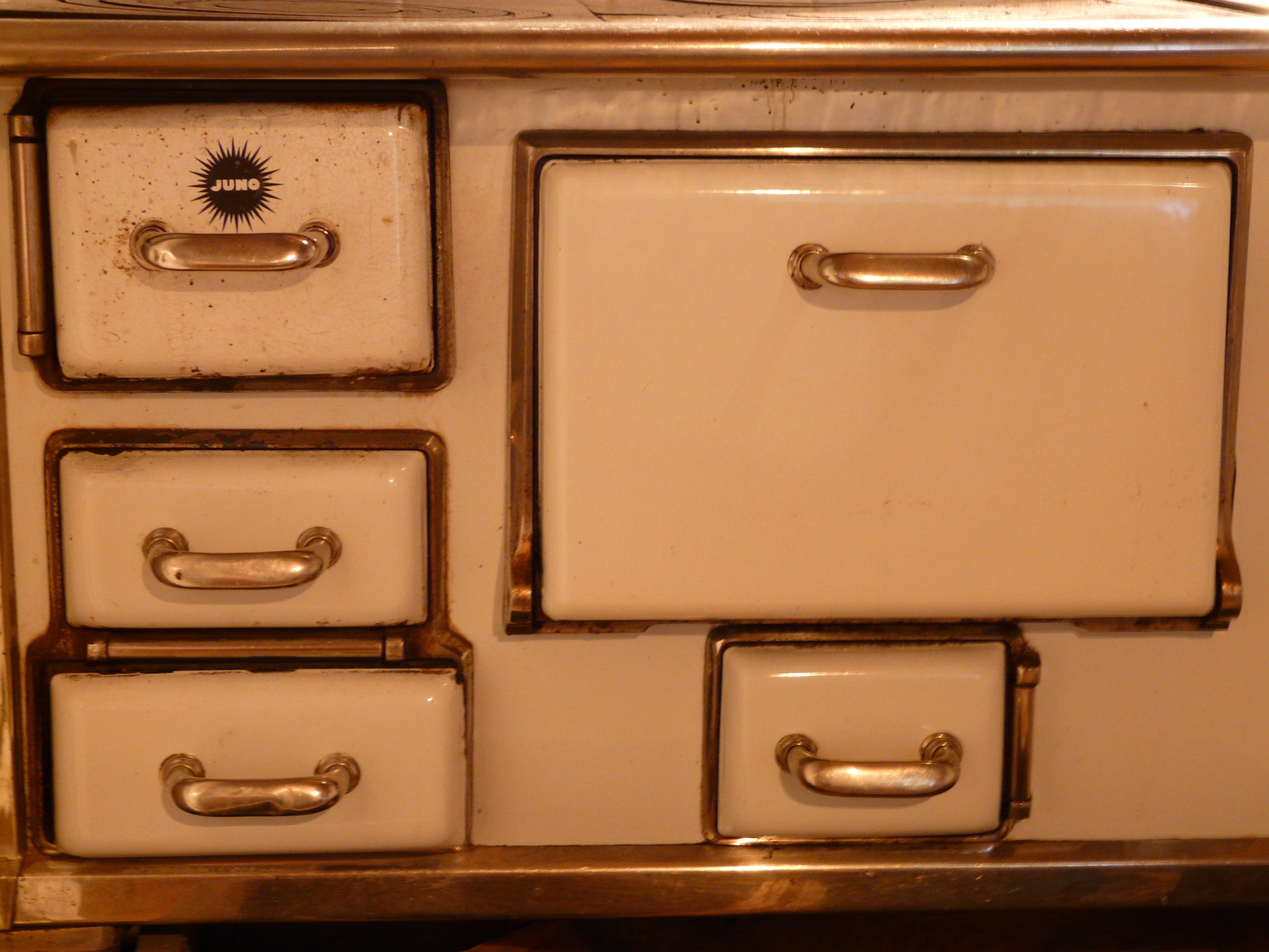 Tabelle Holz Weiß Antiquität Alt Küche Feuer Kamin Sinken Möbel Hitze Koch  Herd Brust Schublade Türen