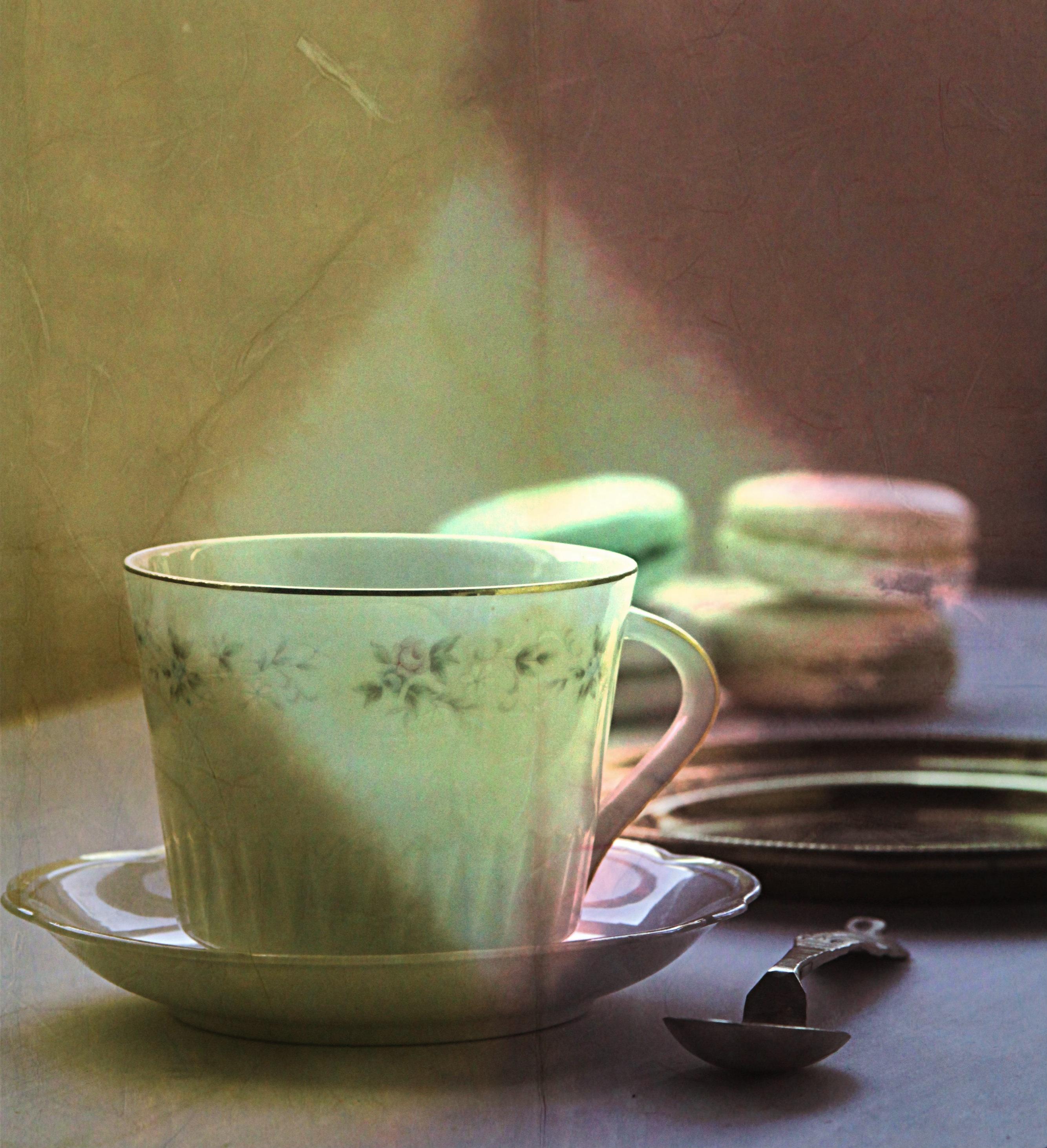 Картинки зеленый чай доброе утро
