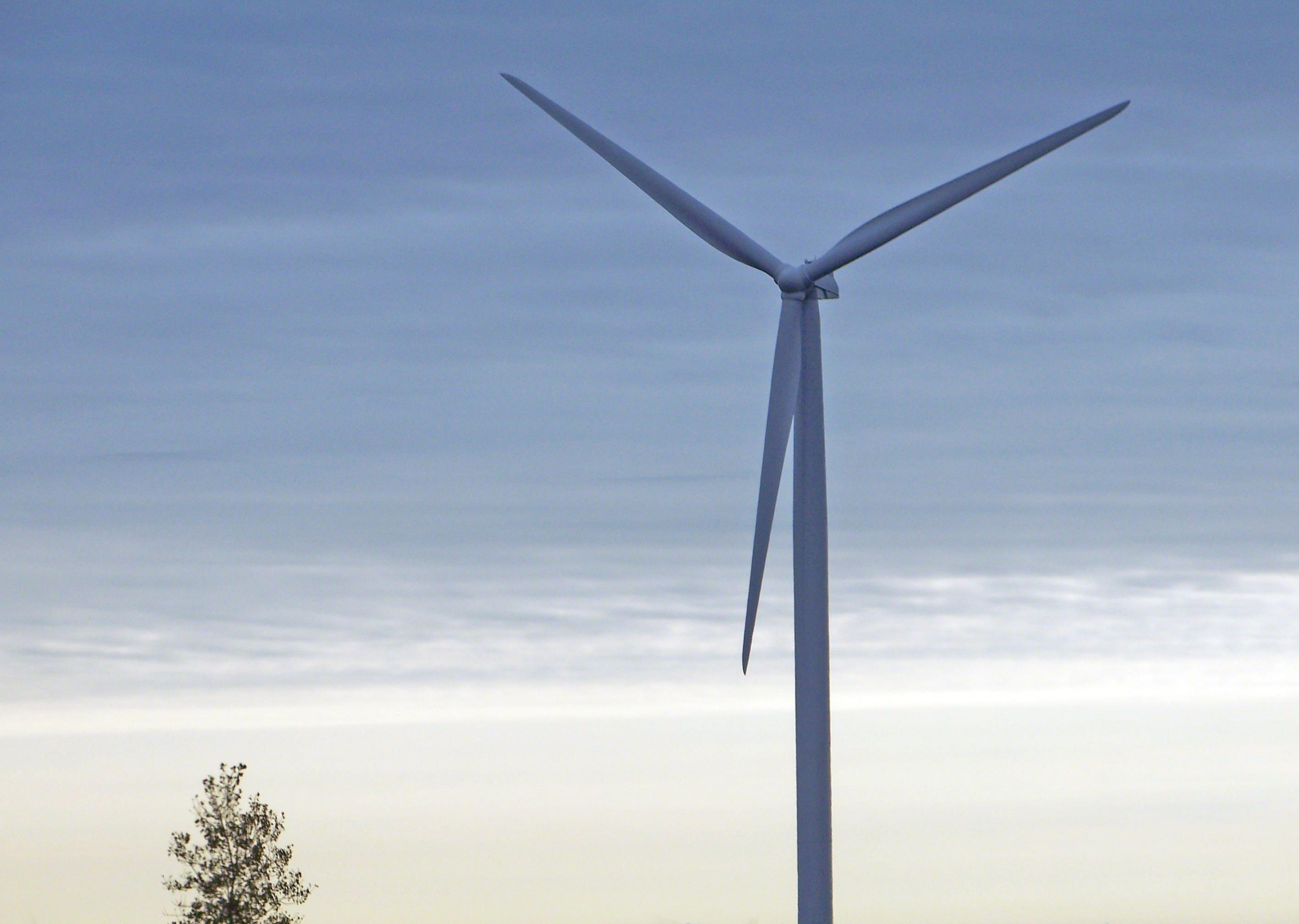 Free technology air windmill station clean machine