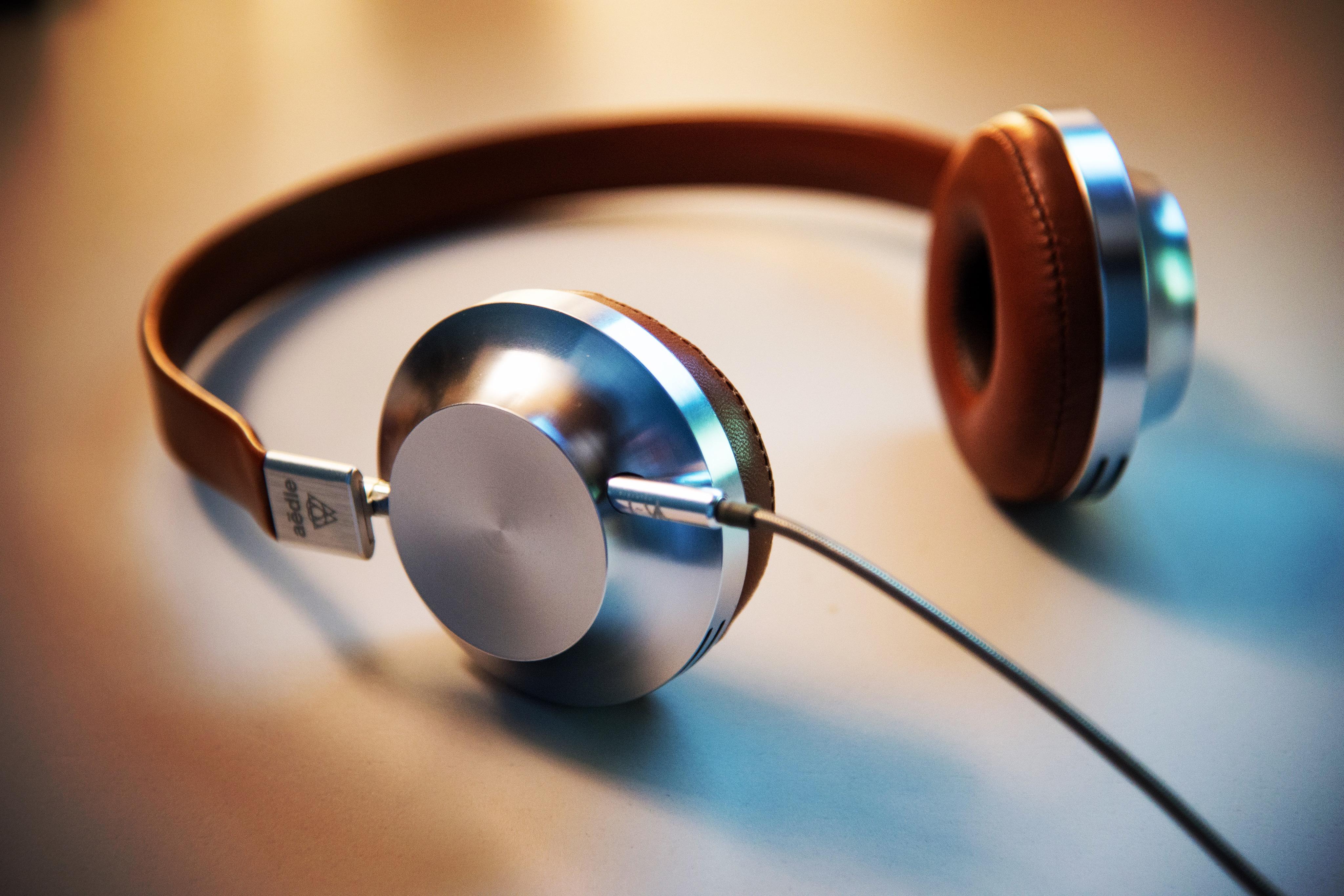Free Images : technology, headphone, gadget, blue, ear ...