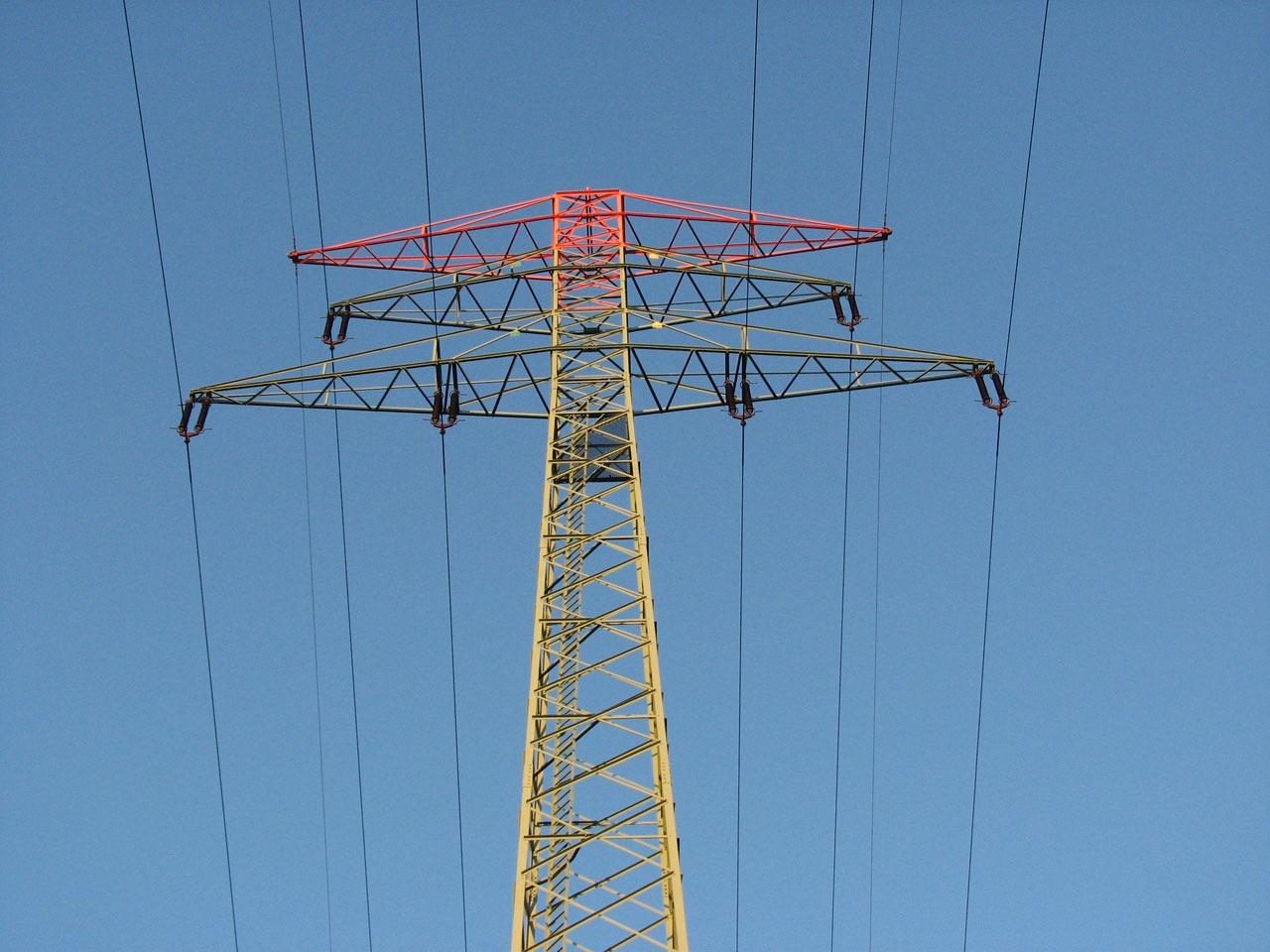Fotos gratis : tecnología, línea, torre, Línea eléctrica, mástil ...