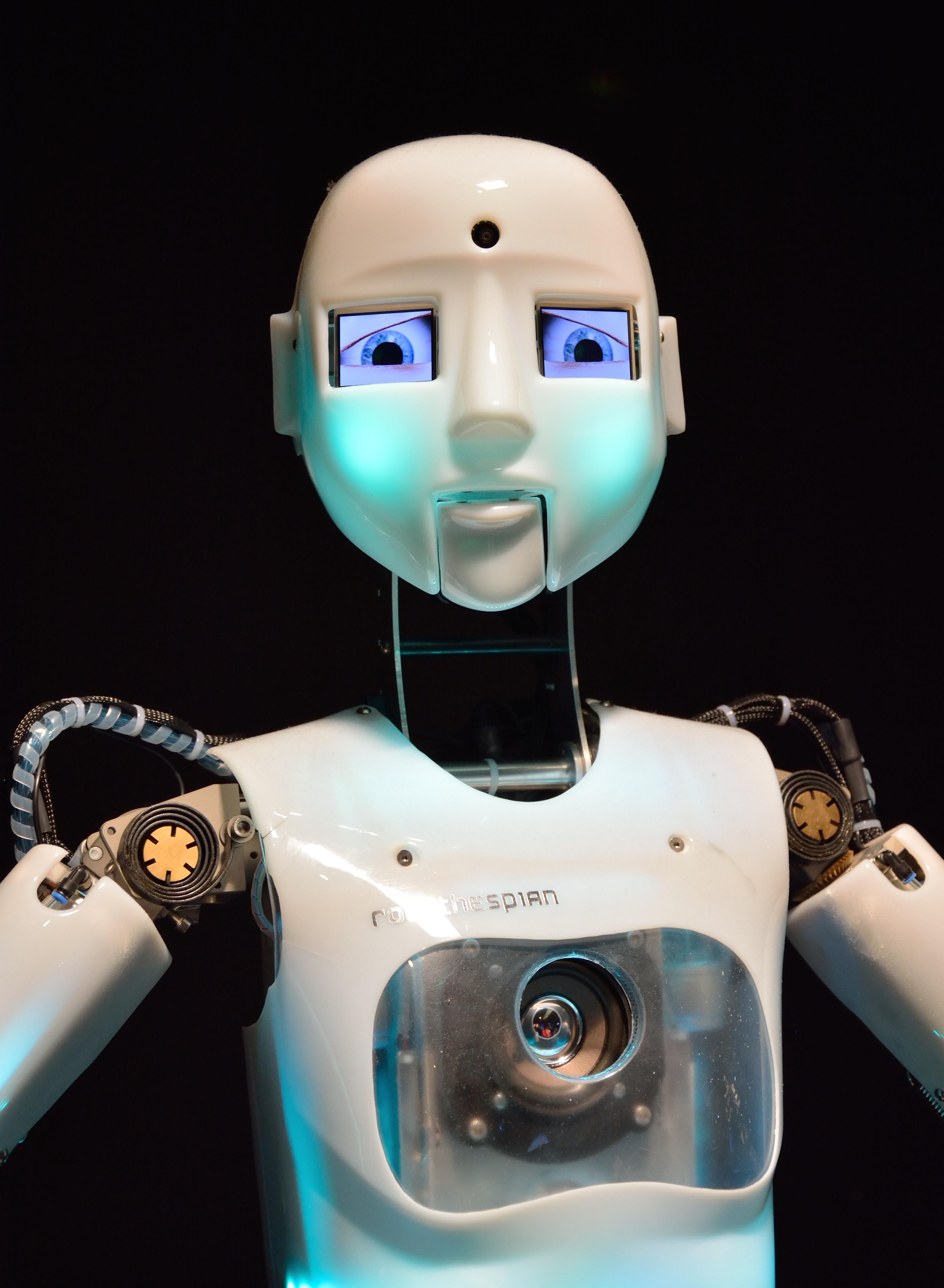человекоподобные роботы картинки можно открыть при