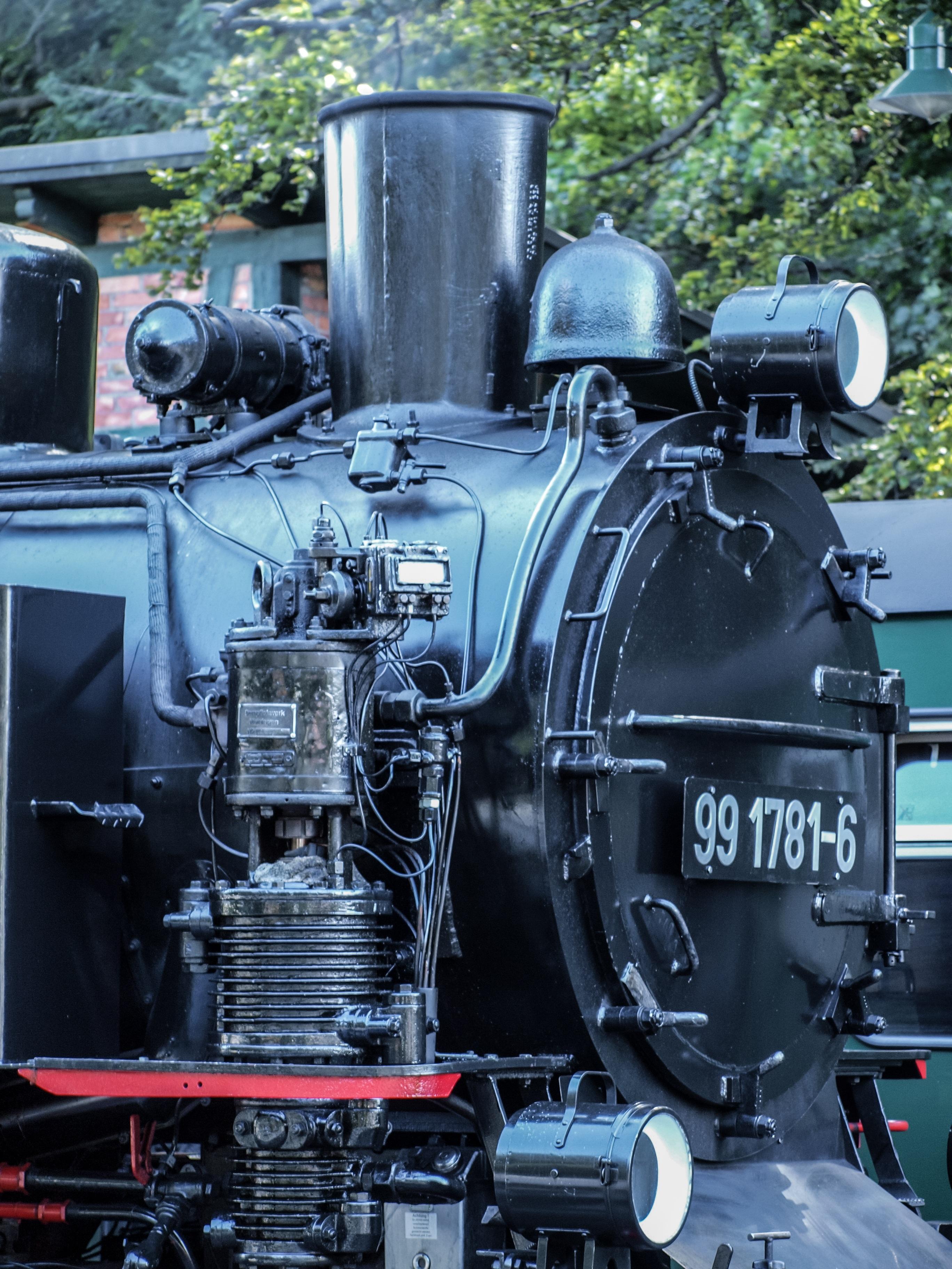 technology railway tractor old train transport vehicle drive locomotive engine loco nostalgic steam engine historically steam