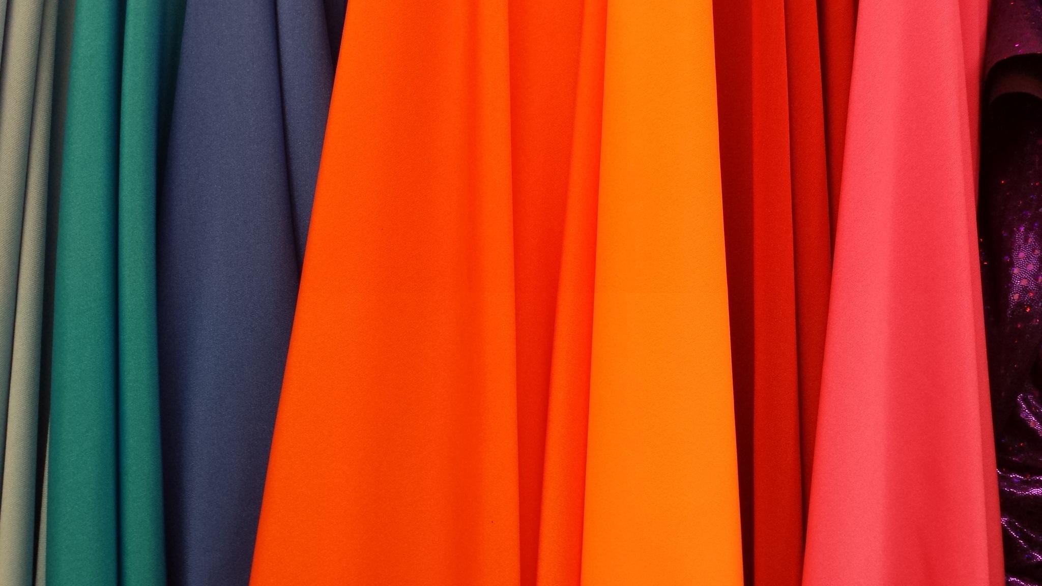 Bright colors clothes