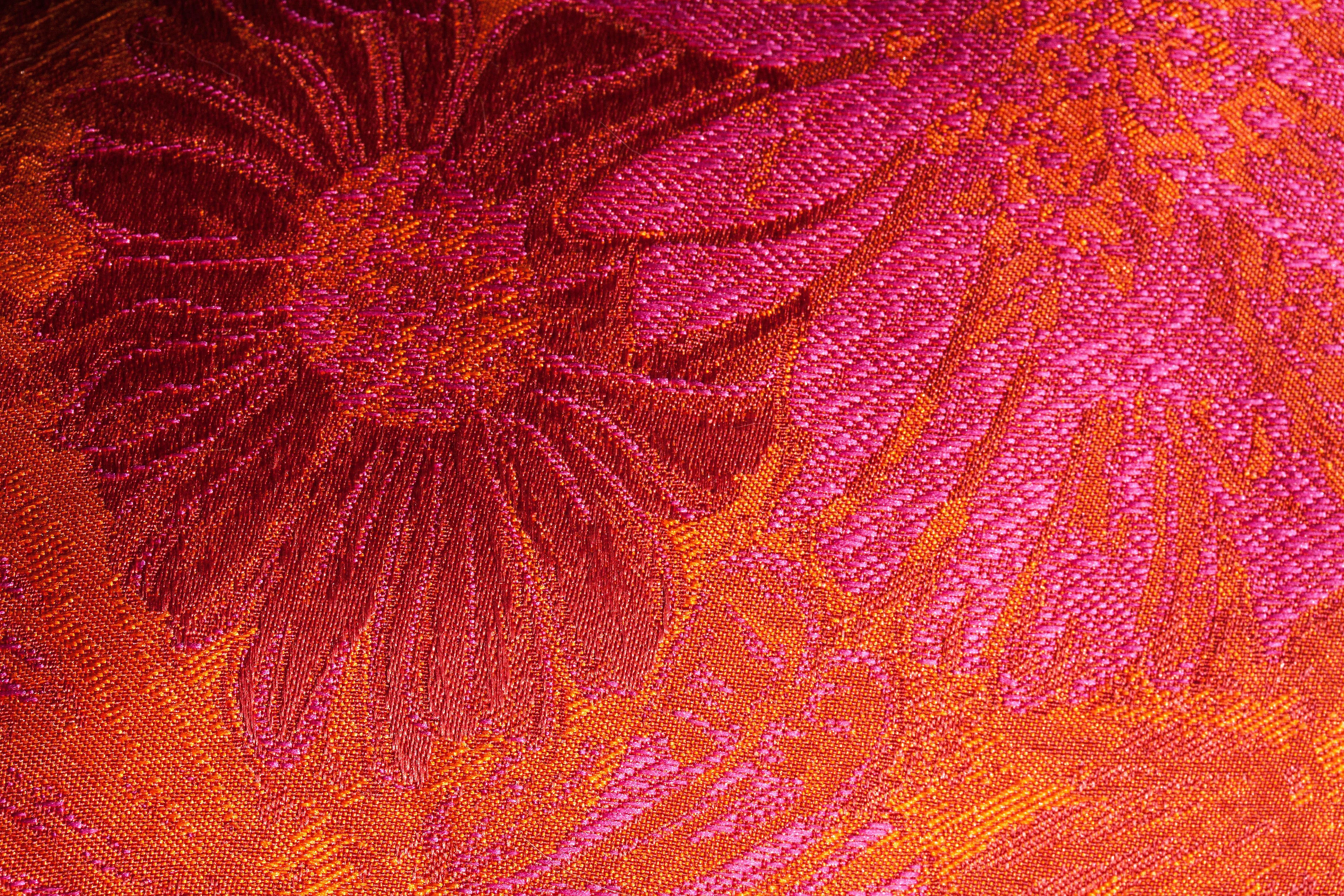 Free Images : texture, leaf, flower, petal, orange, pattern, red ...