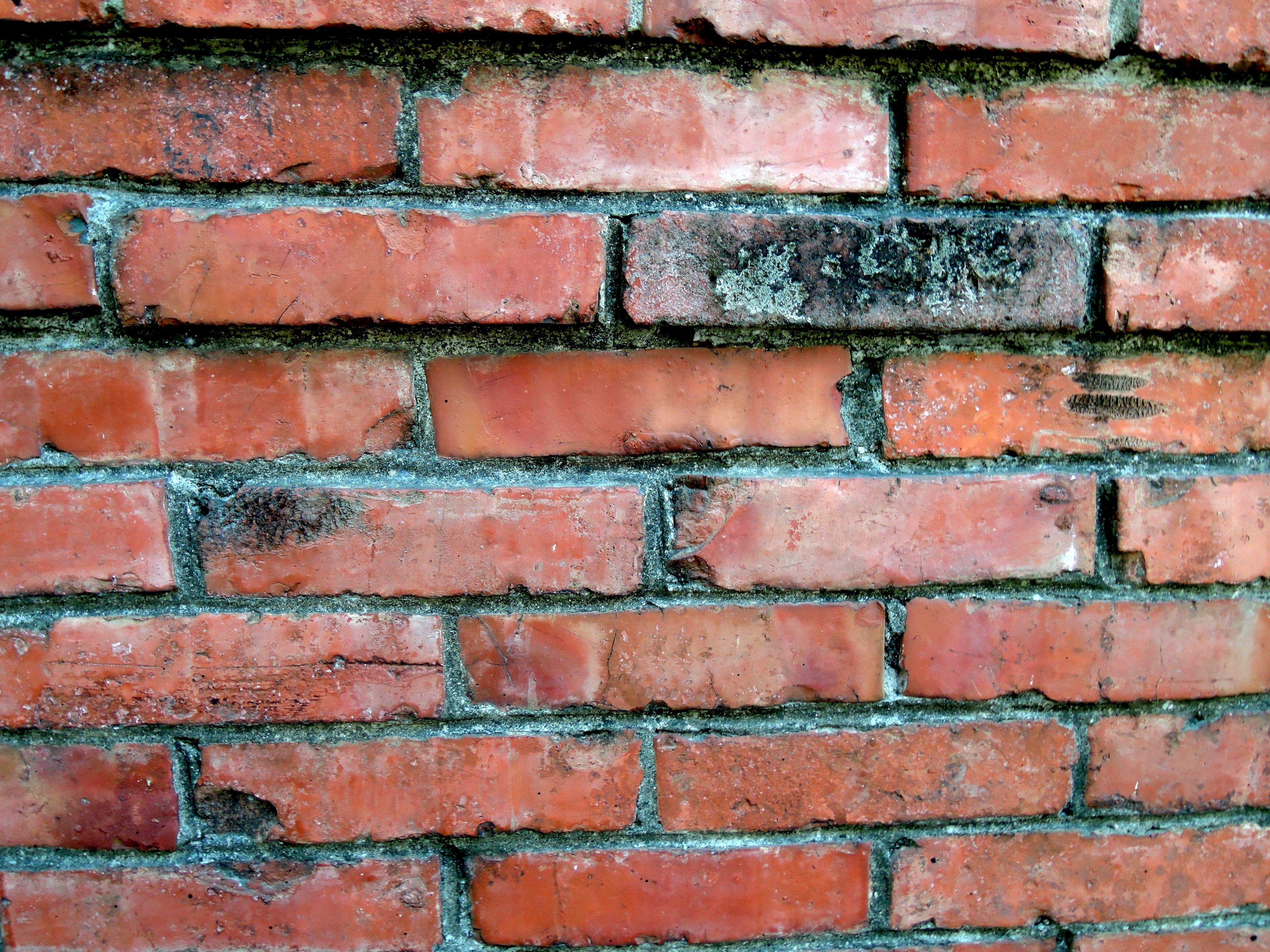 Mur En Brique Rouge images gratuites : texture, vieux, mur, matériel, rectangle