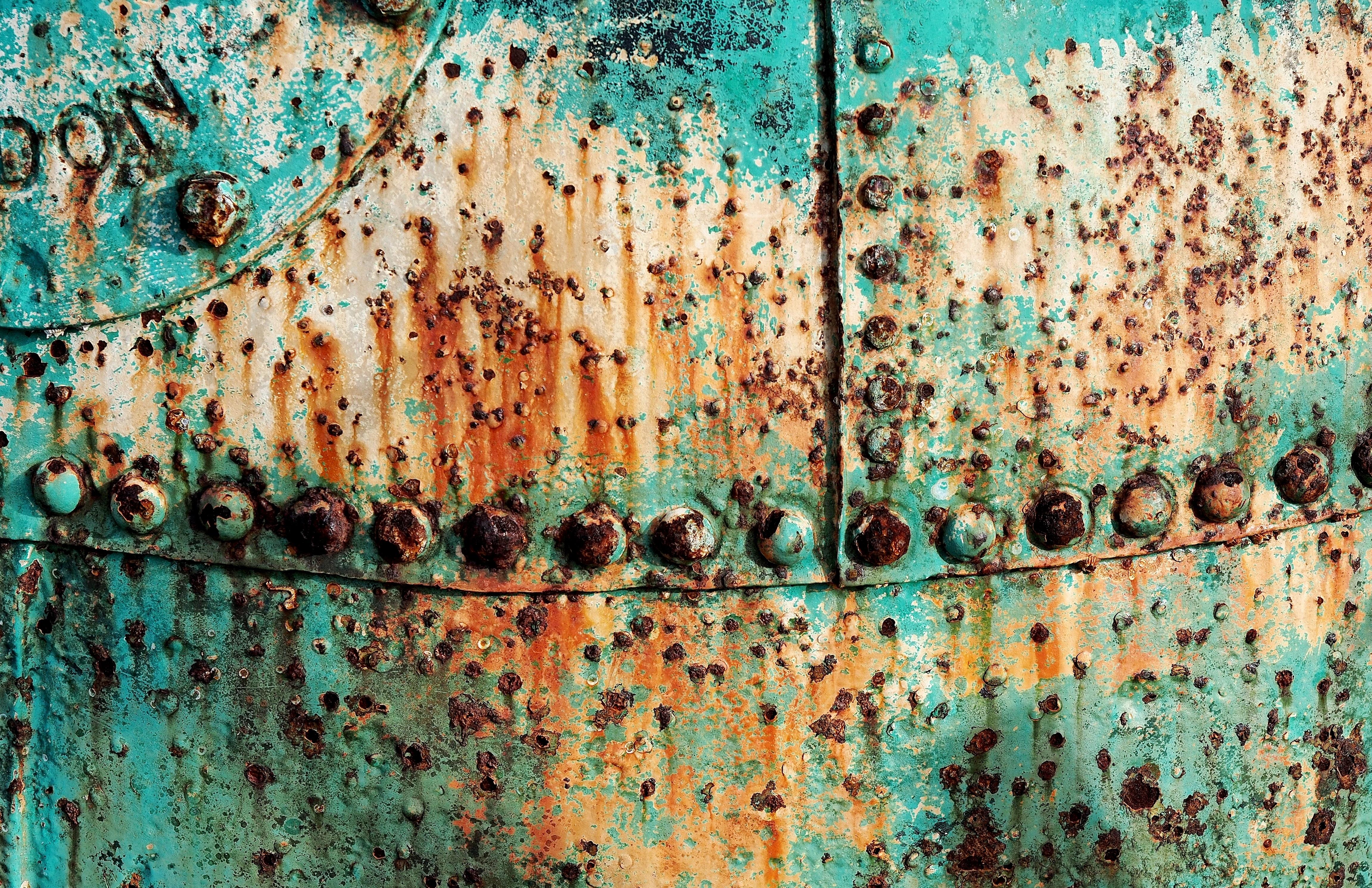 Images gratuites texture vieux mur acier rouille - Peindre du metal rouille ...