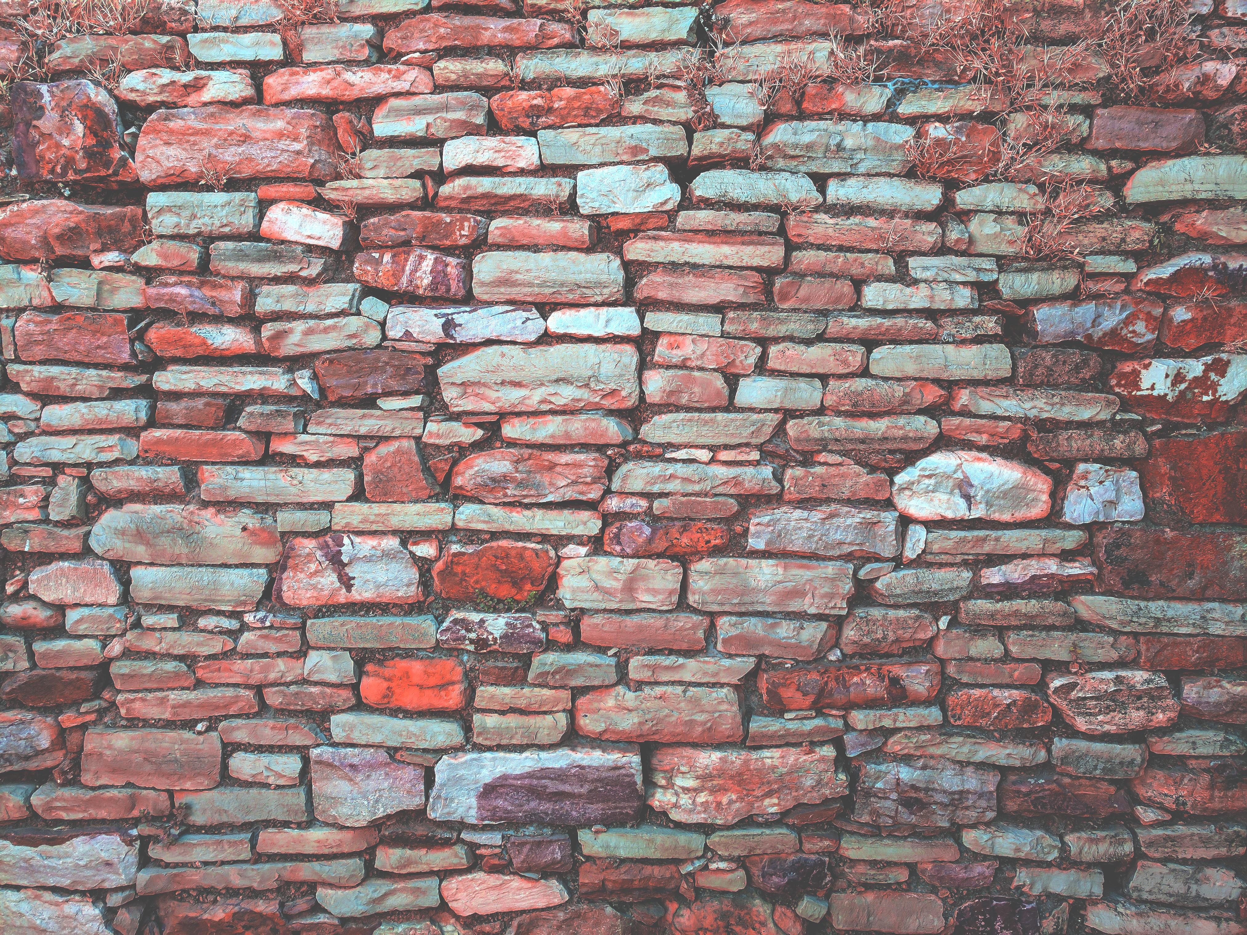 textura pared piedra pared de piedra ladrillo material bloquear ladrillos