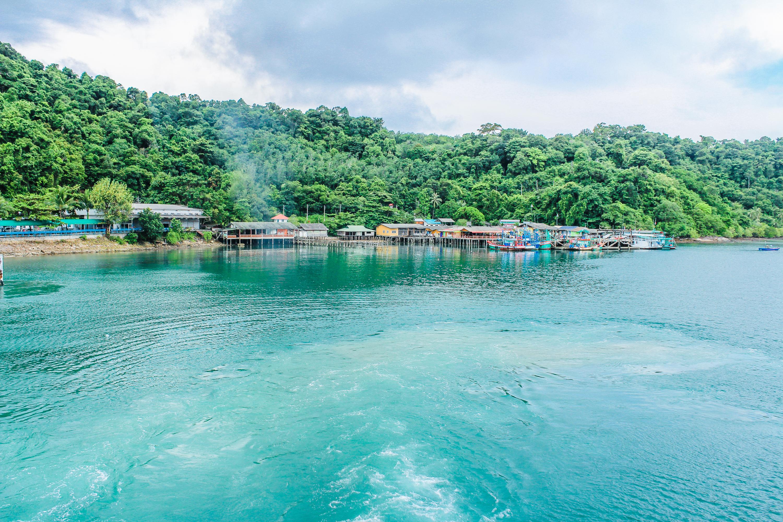 Tropical Paradise Beach Coast Sea Blue Emerald Ocean Palm: Free Images : Thailand, Nature, Tropical, Sea, Island