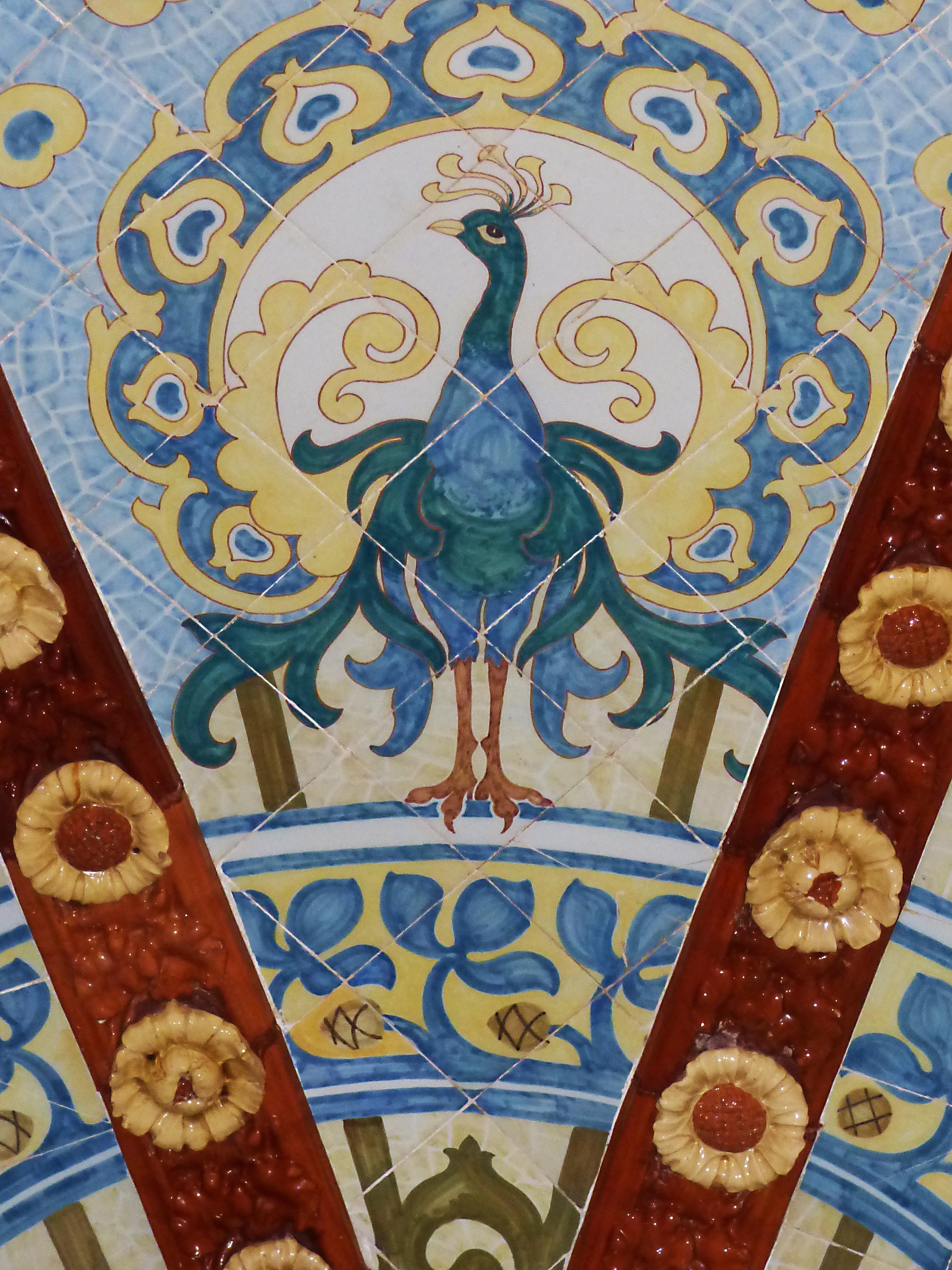 Free images tiles ceramic crafts catalan modernism reus tiles ceramic crafts catalan modernism reus pere mata art noveau monogram dailygadgetfo Images