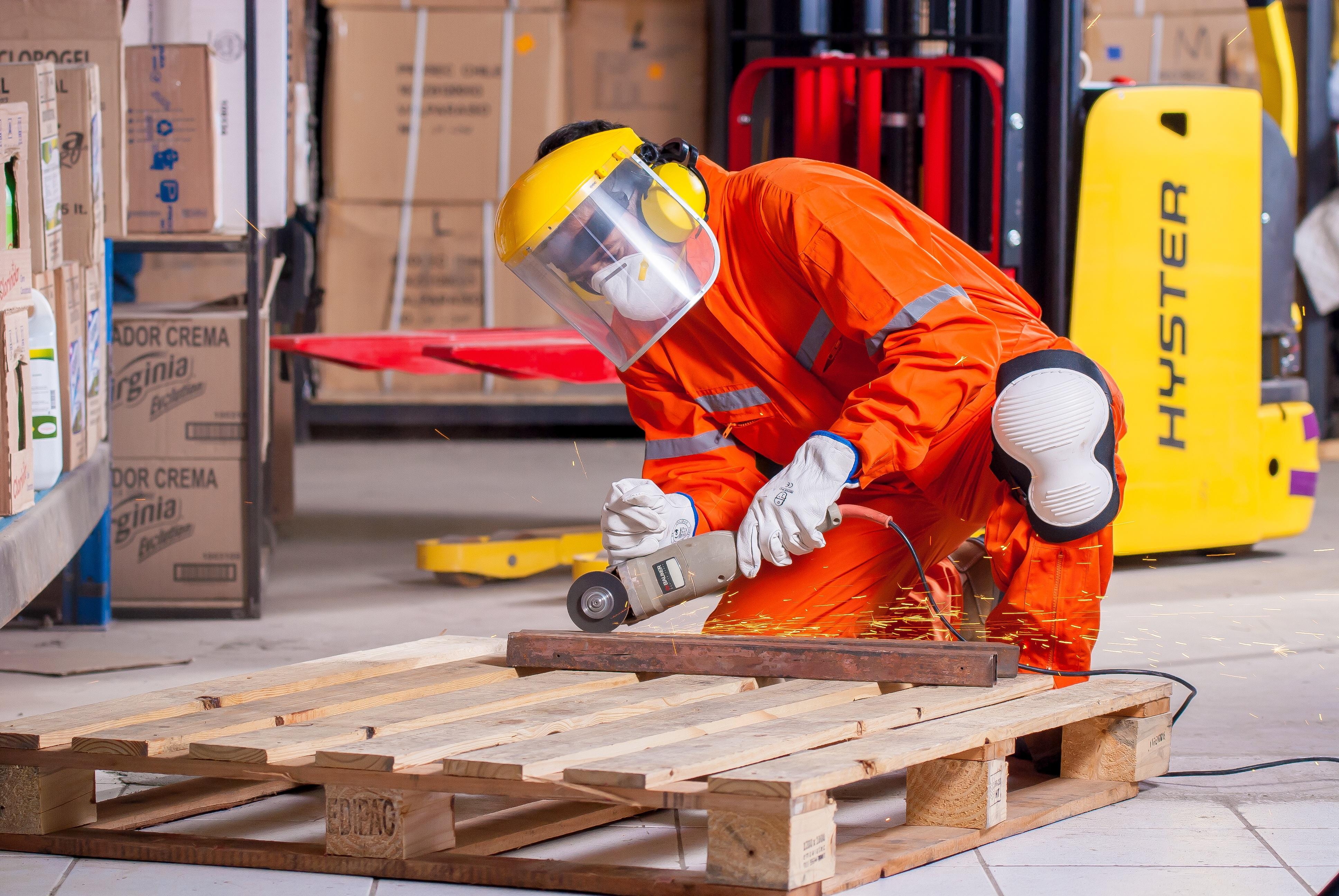 63922675 verktøy stål industriell sikkerhet kutte opp sko arbeider produserer Vest  veileder personlig verneutstyr logis bygningsarbeider arbeidsklær