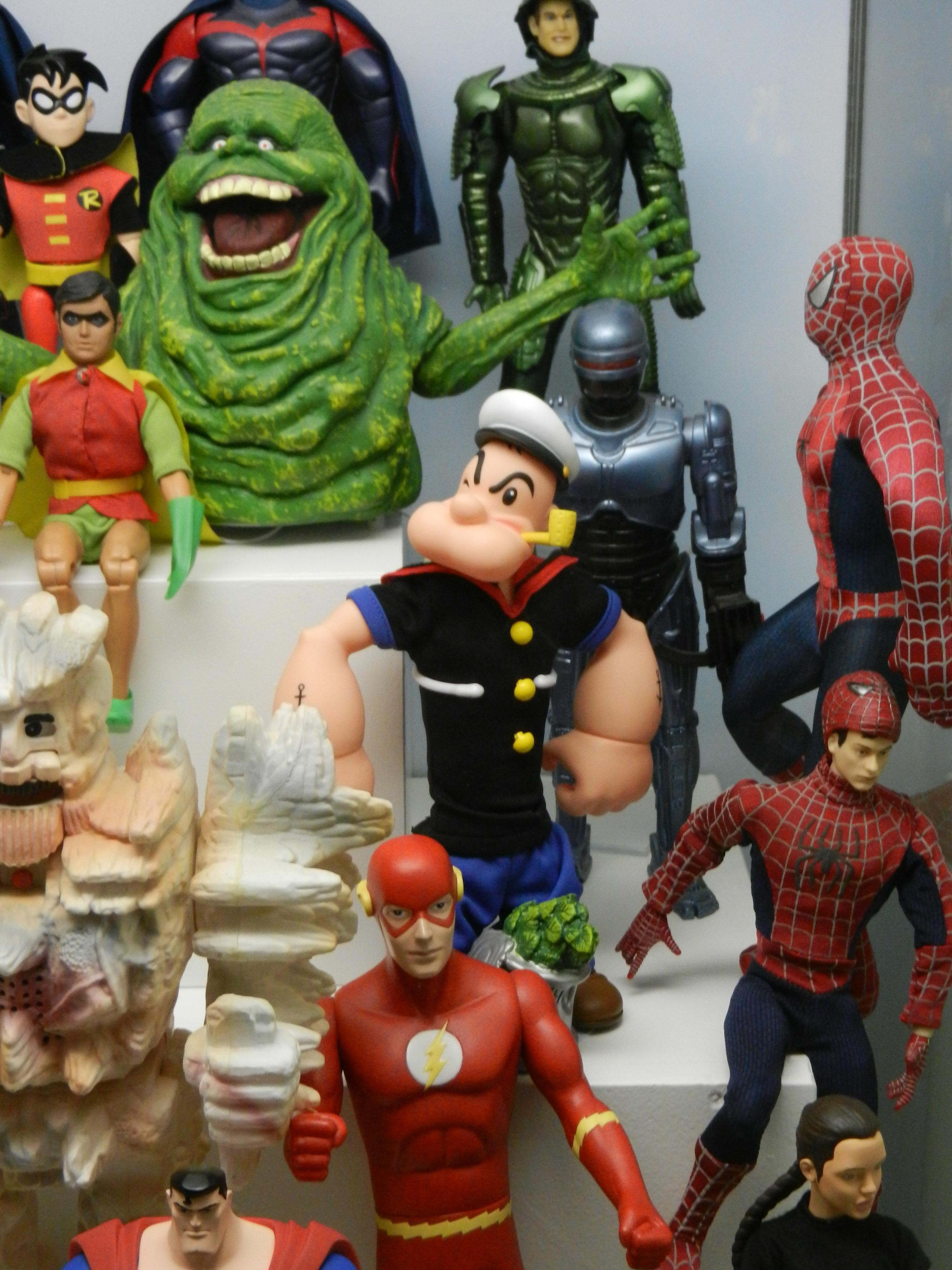 Gambar Mainan Batman Action Figure Patung Patung Komik