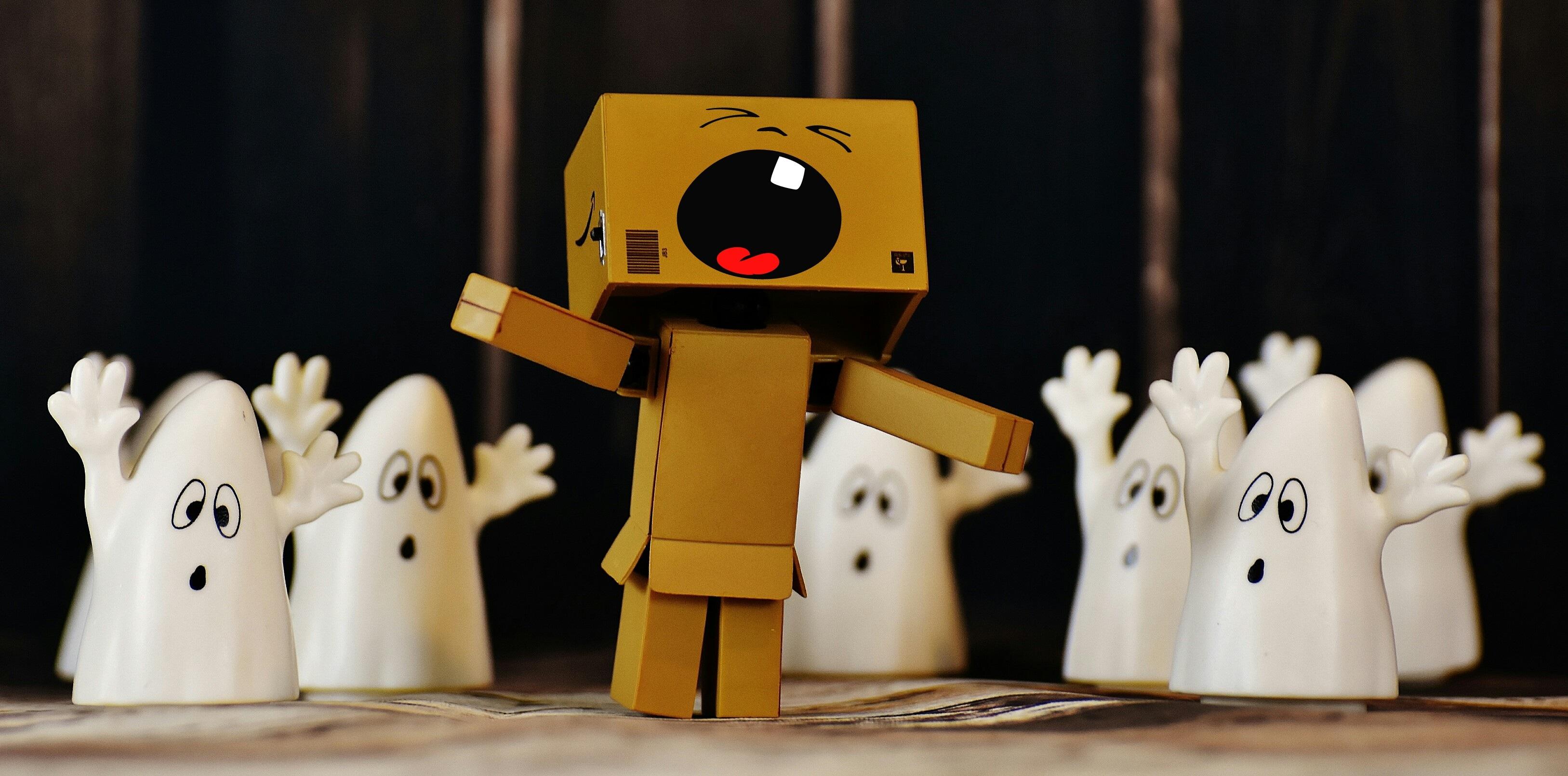 580 Koleksi Gambar Hantu Robot Gratis Terbaru