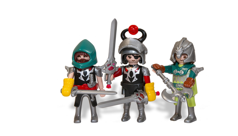 Gambar Mainan Miniatur Ilustrasi Ksatria Arca Action Figure