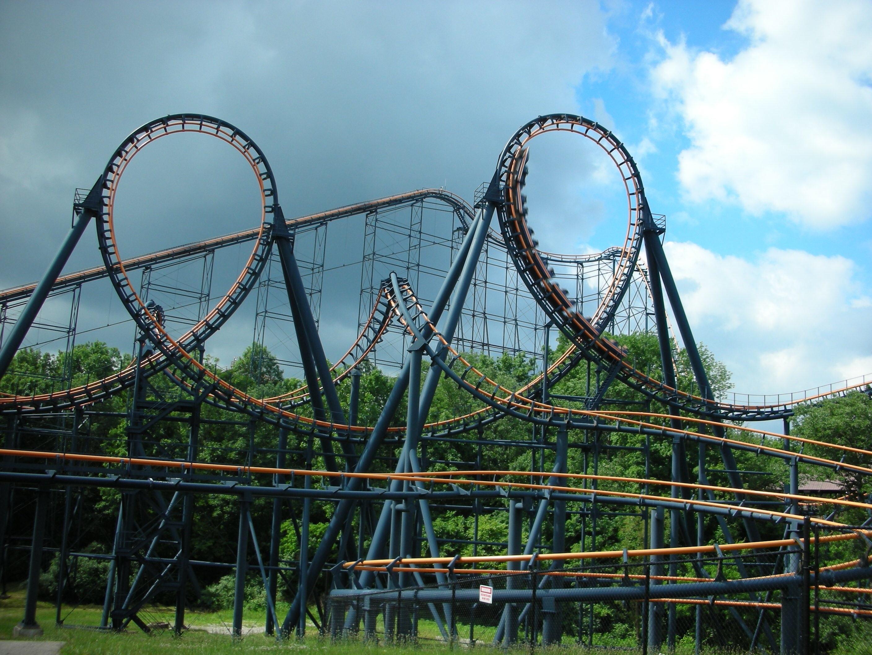 Free Images Track Adventure Amusement Park Action