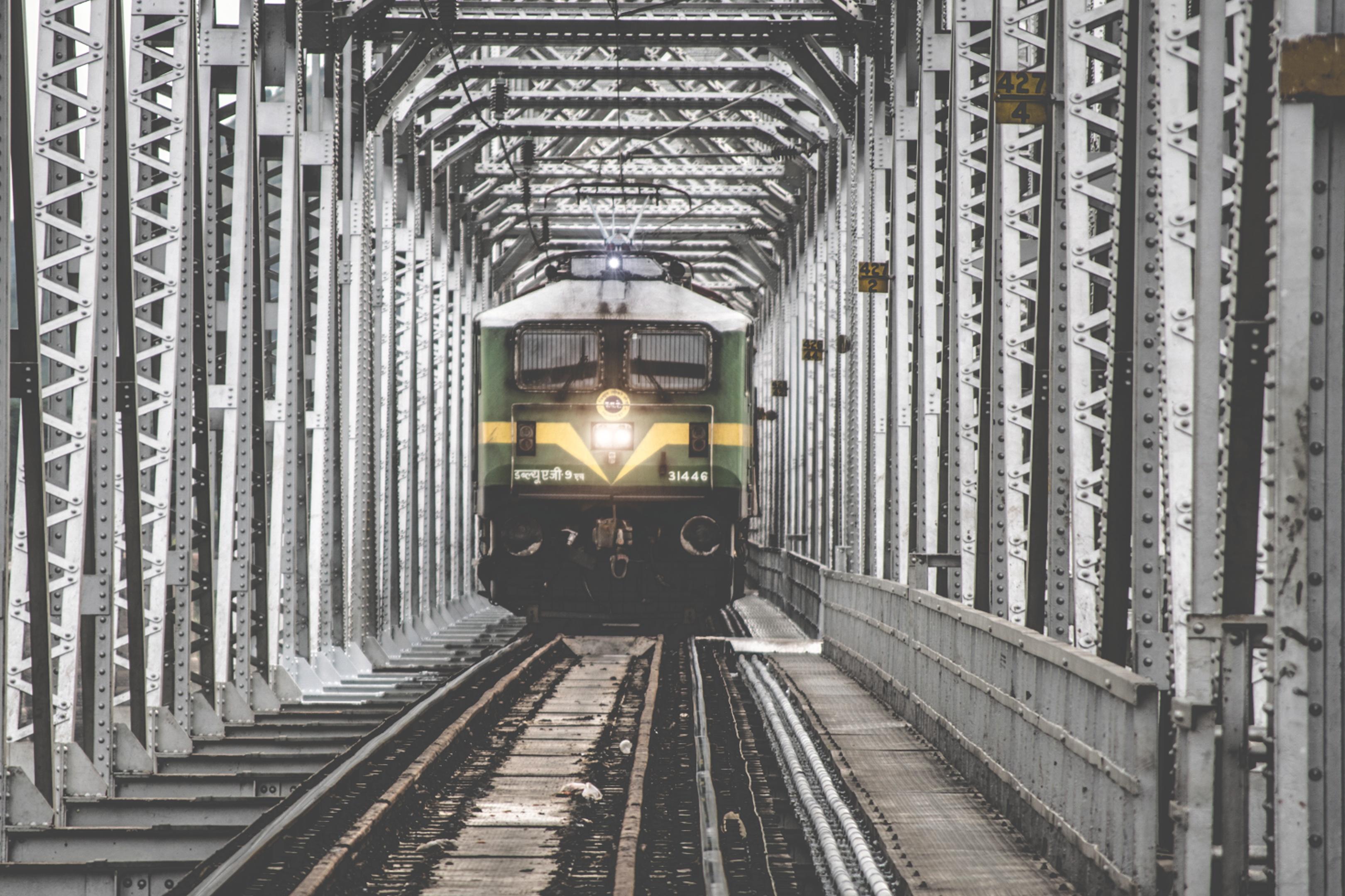 free images bridge train track rail tunnel vehicle public