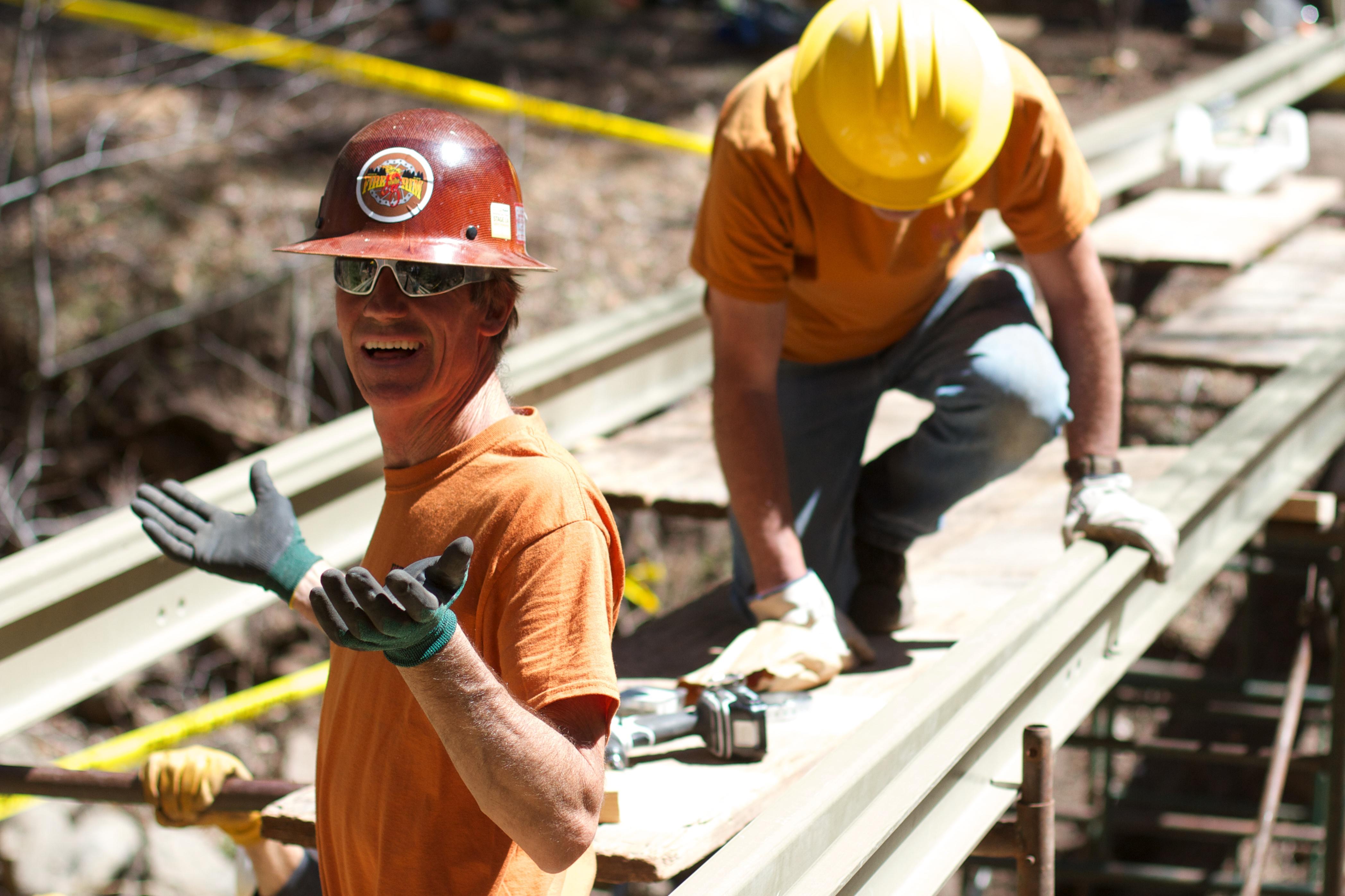 track pstrails laborer construction worker - Construction Laborer