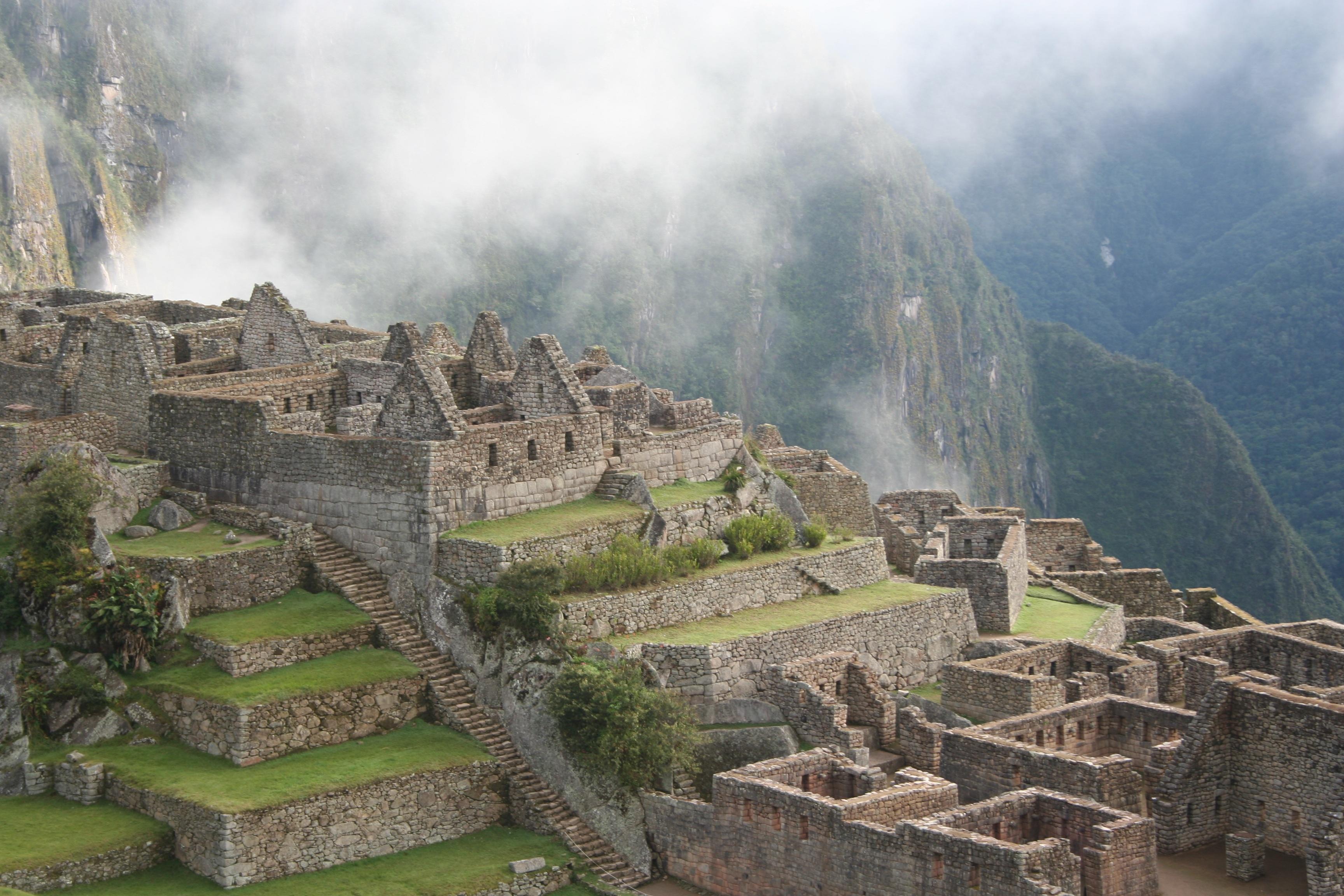 peruvian city inca empire - HD3456×2304