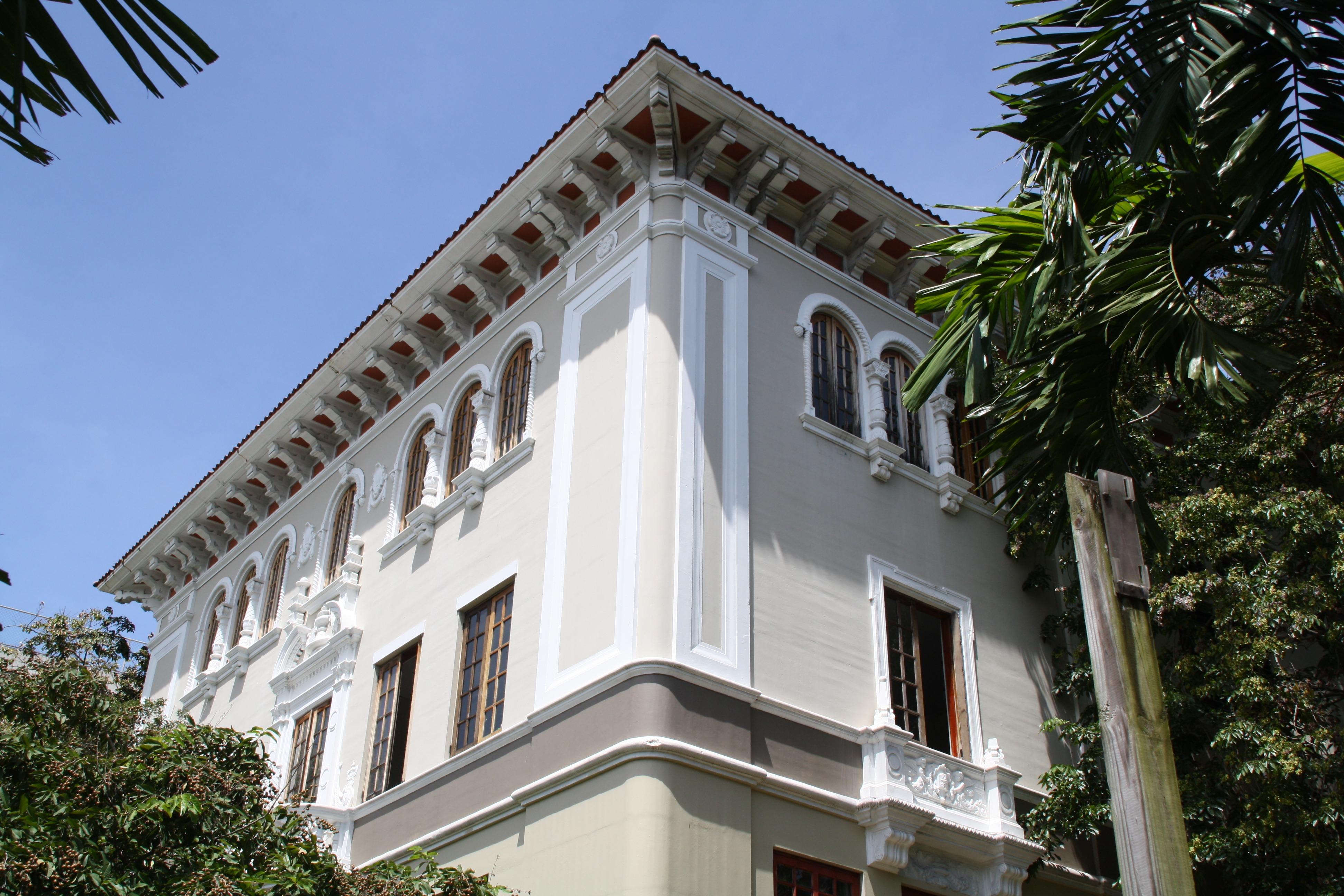 Gratis afbeeldingen : boom architectuur hemel villa herenhuis