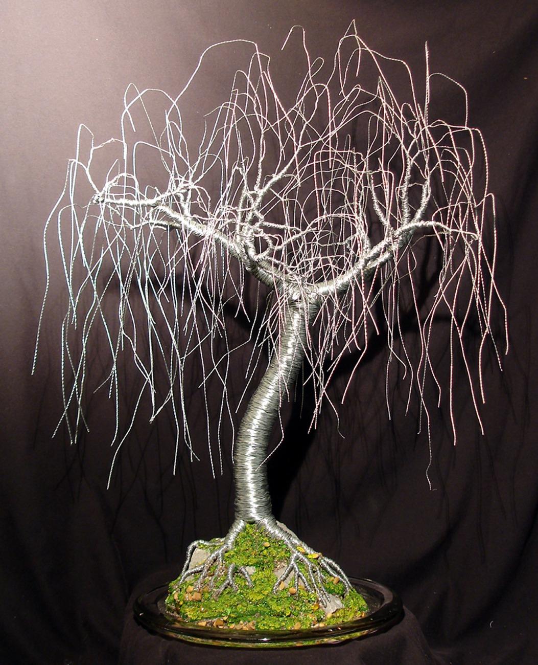 деревья из проволоки картинки положение сложилось