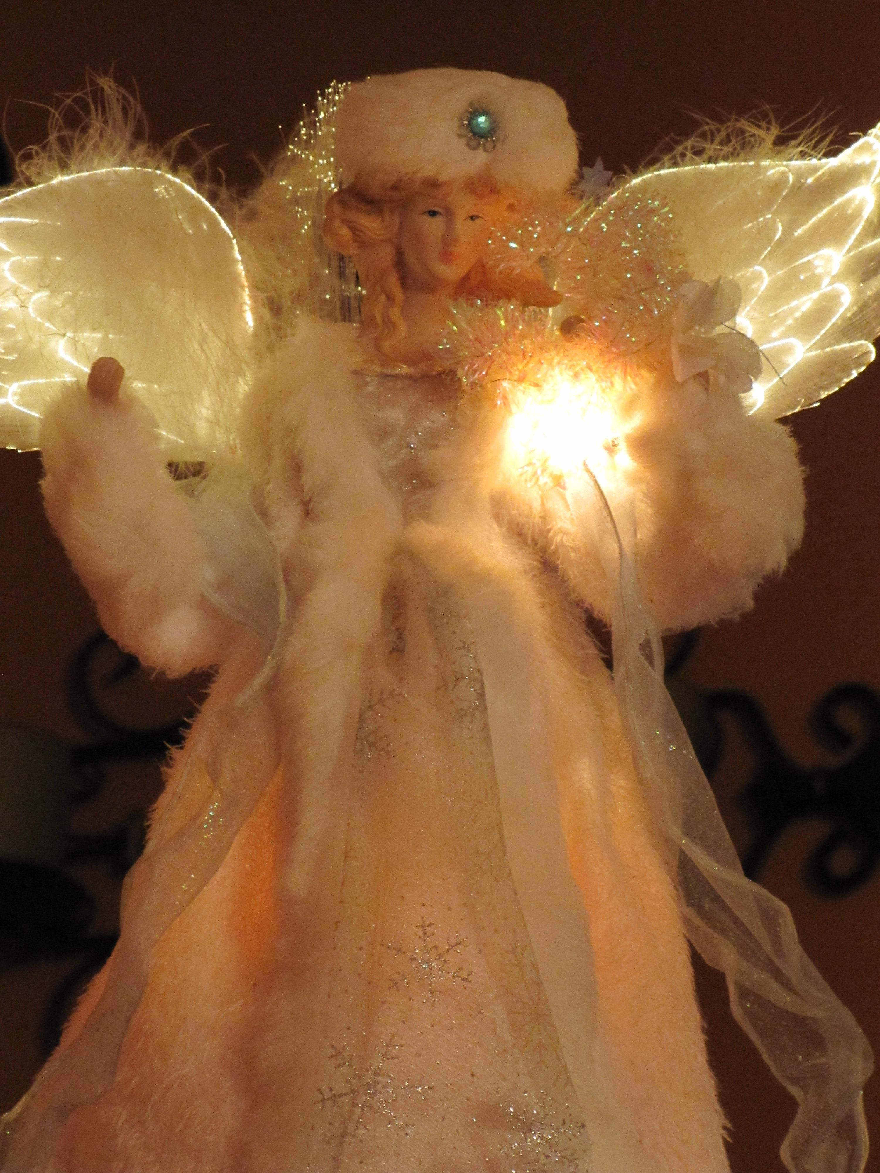 888486b322e9 träd firande dekoration jul leksak ängel lampor klänning jul fiktiv karaktär