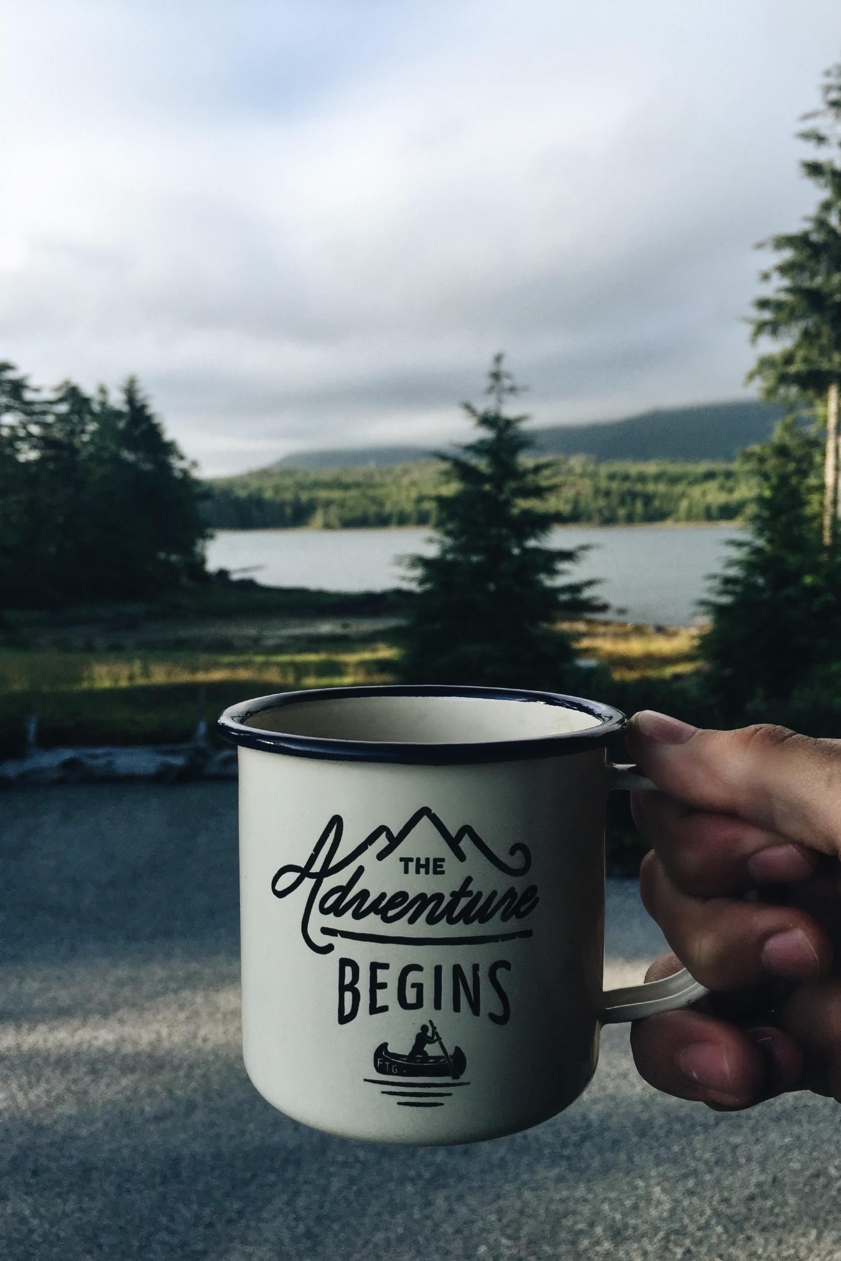 Gratis Afbeeldingen : boom, koffie, ochtend-, meer, avontuur ...