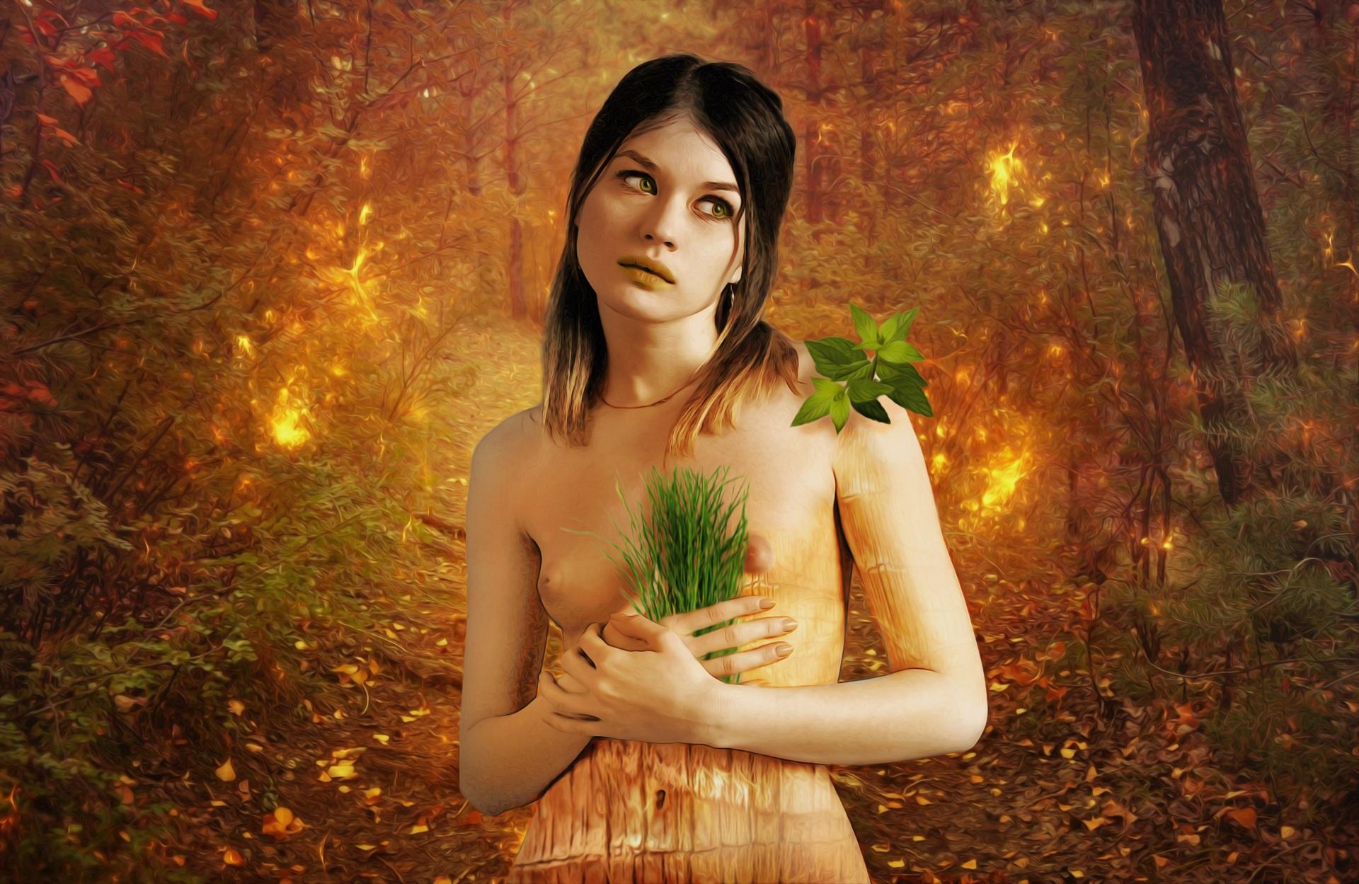 Free Images Forest Grass Girl Sunlight Dark Female