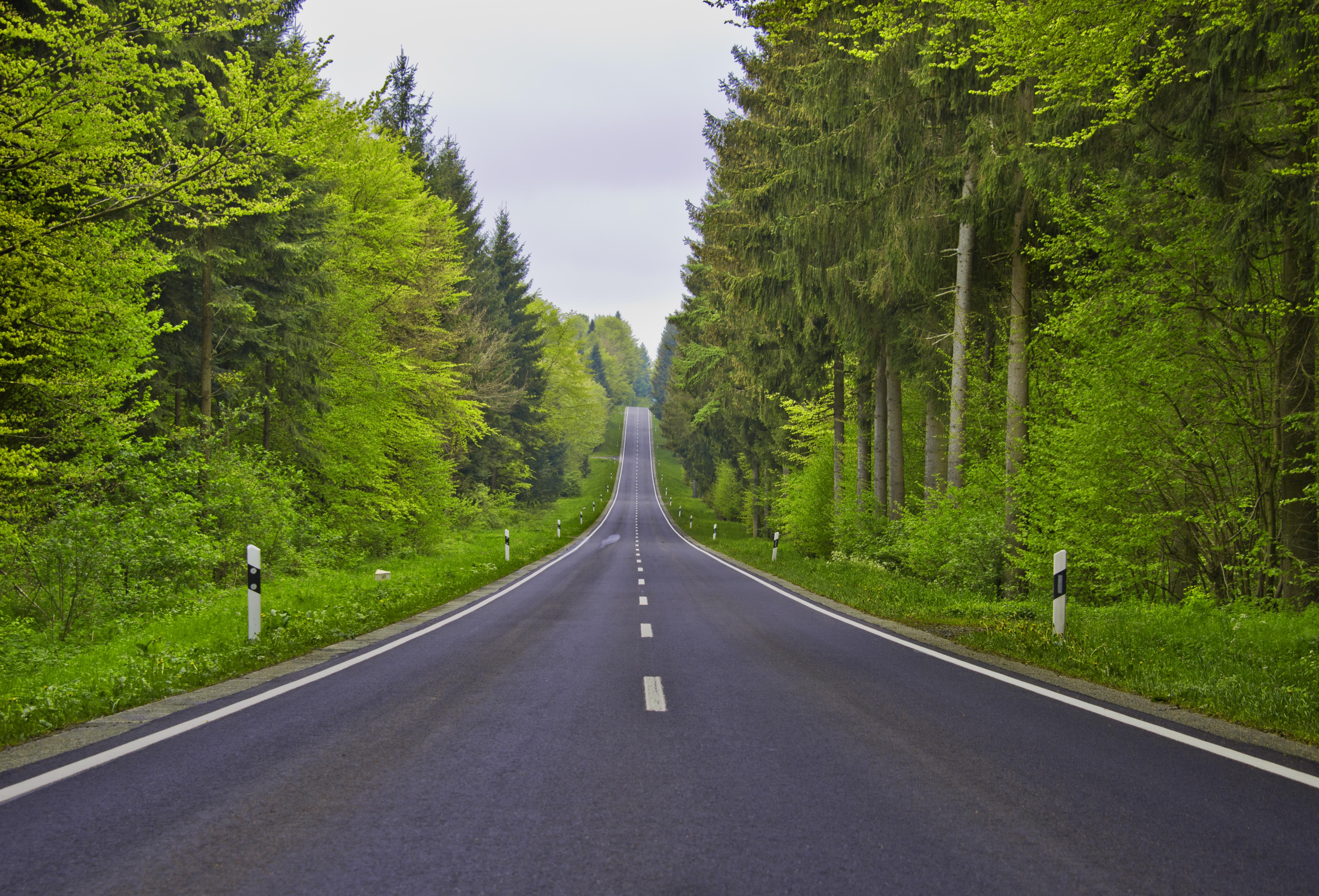 того кто-то фото красивой длинной дороги изготовленные помощью