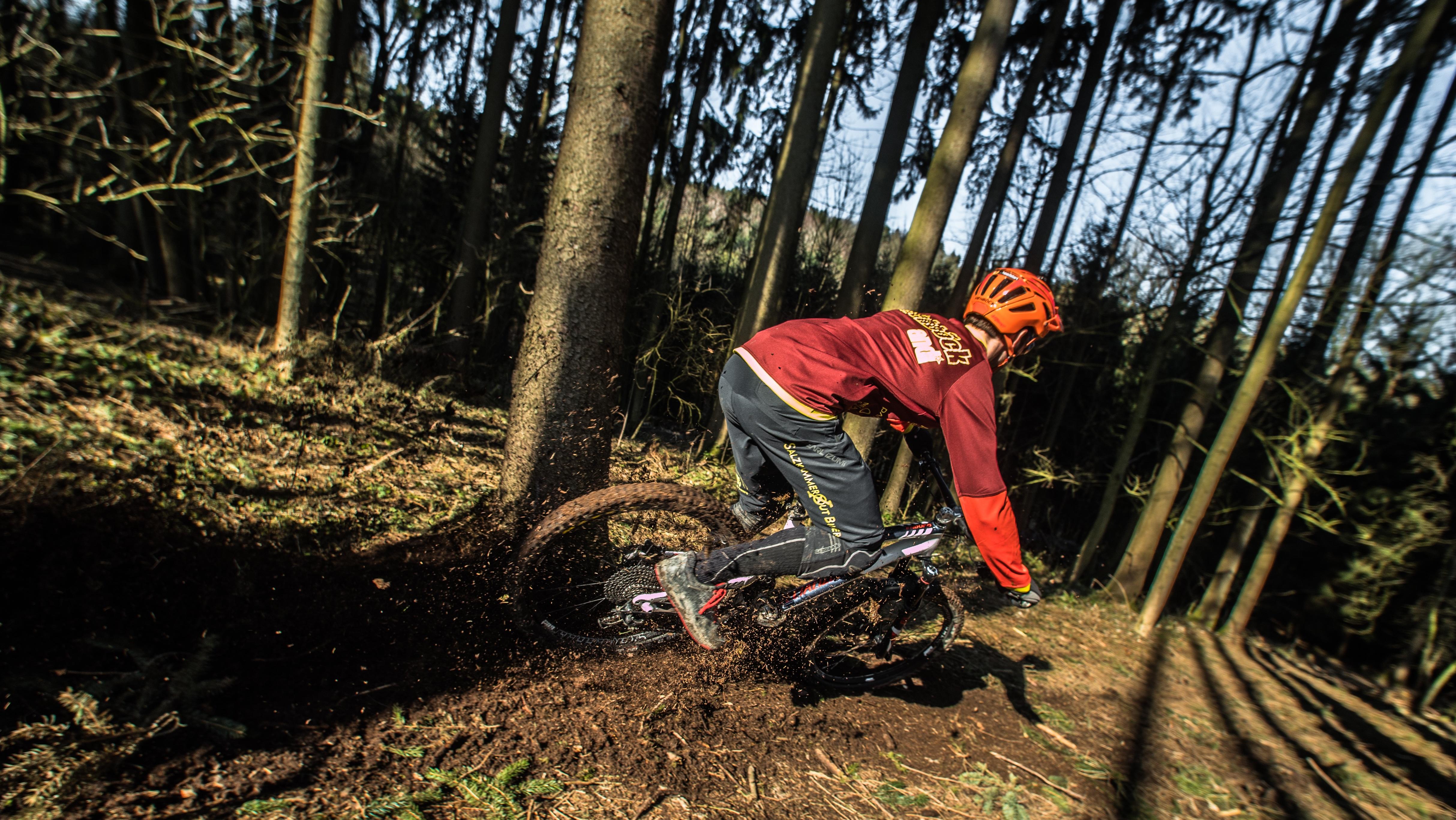 Kostenlose foto : Baum, Wald, Weg, Abenteuer, Fahrrad, Fahrzeug ...