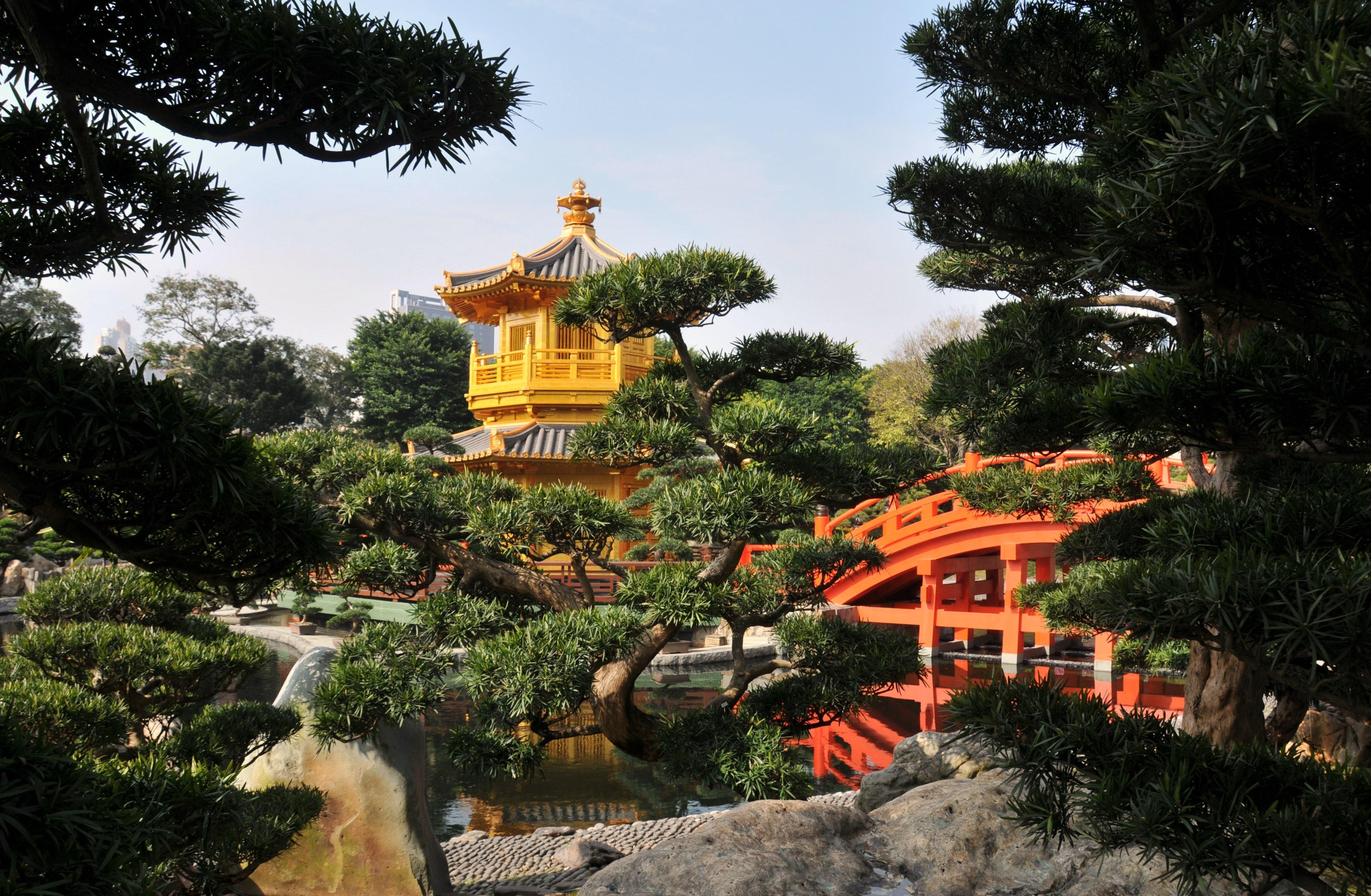Images gratuites arbre temple recours tombeau jardin for Jardin hong kong