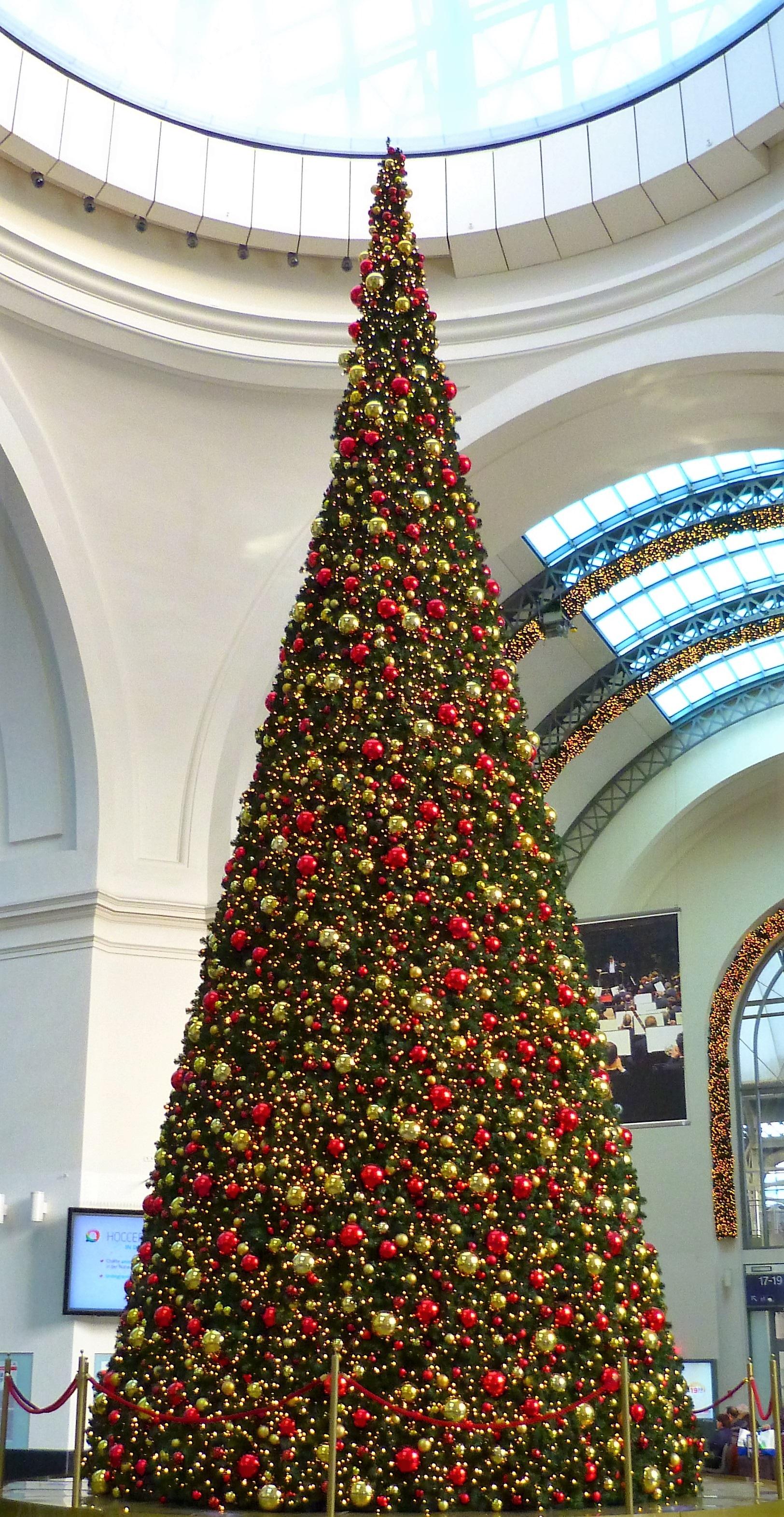 Fotos gratis dorado rojo fiesta rbol de Navidad festivo